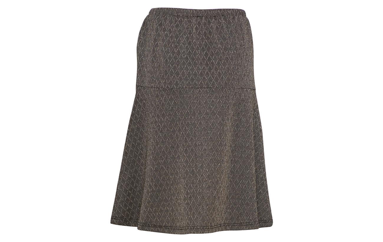 74 Black Ricky Liber 6 Elastane Rebels Silver 20 Skirt 001 Polyester Soft SR6Xwqq