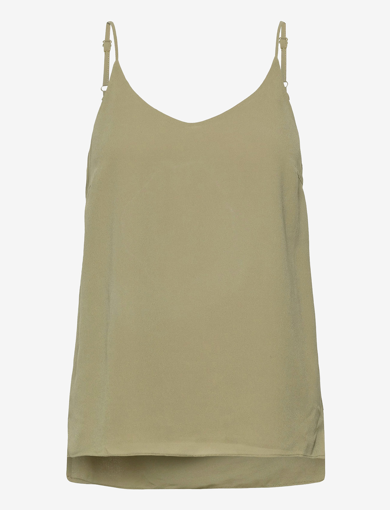 Soft Rebels - SRFrida Top - sleeveless tops - covert green - 0