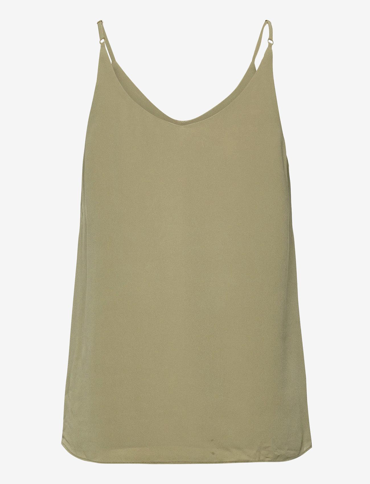 Soft Rebels - SRFrida Top - sleeveless tops - covert green - 1