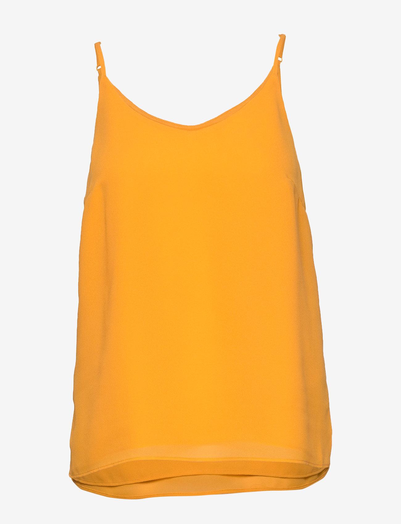 Soft Rebels - Frida Top - blouses zonder mouwen - kumquat - 0