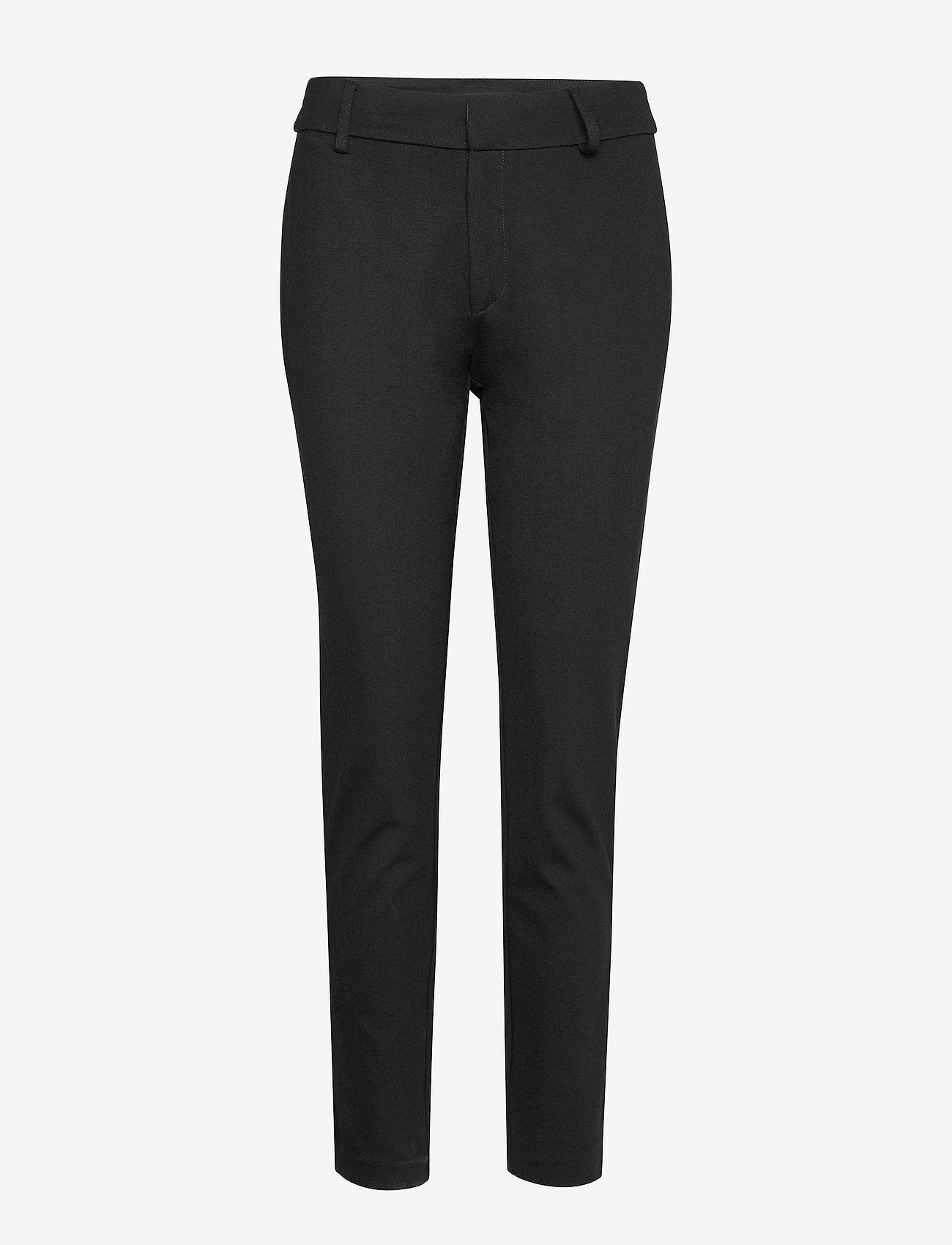 Soft Rebels - Sofia 7/8 Pant - broeken med straight ben - black - 1