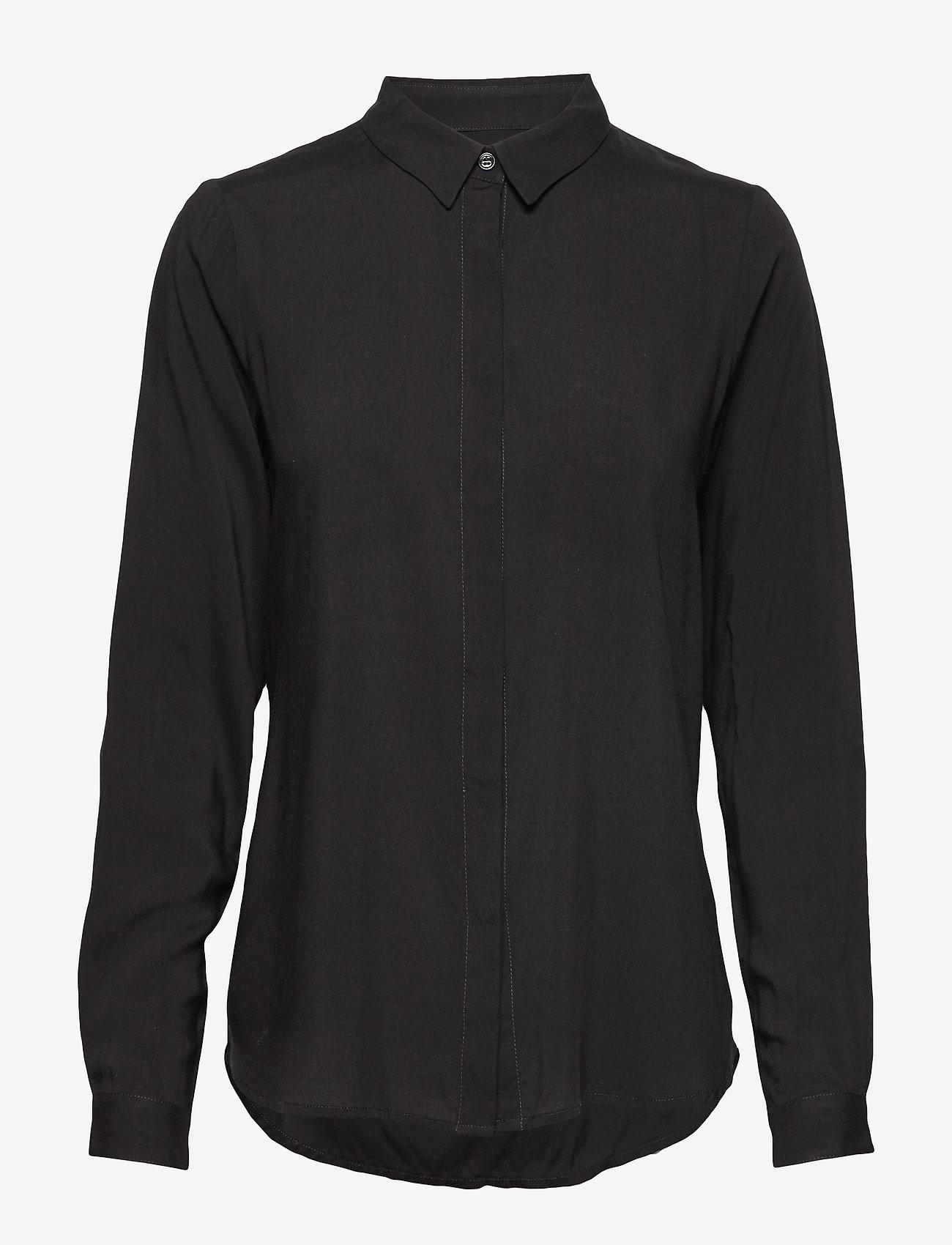 Soft Rebels - Freedom LS Shirt - overhemden met lange mouwen - black - 1