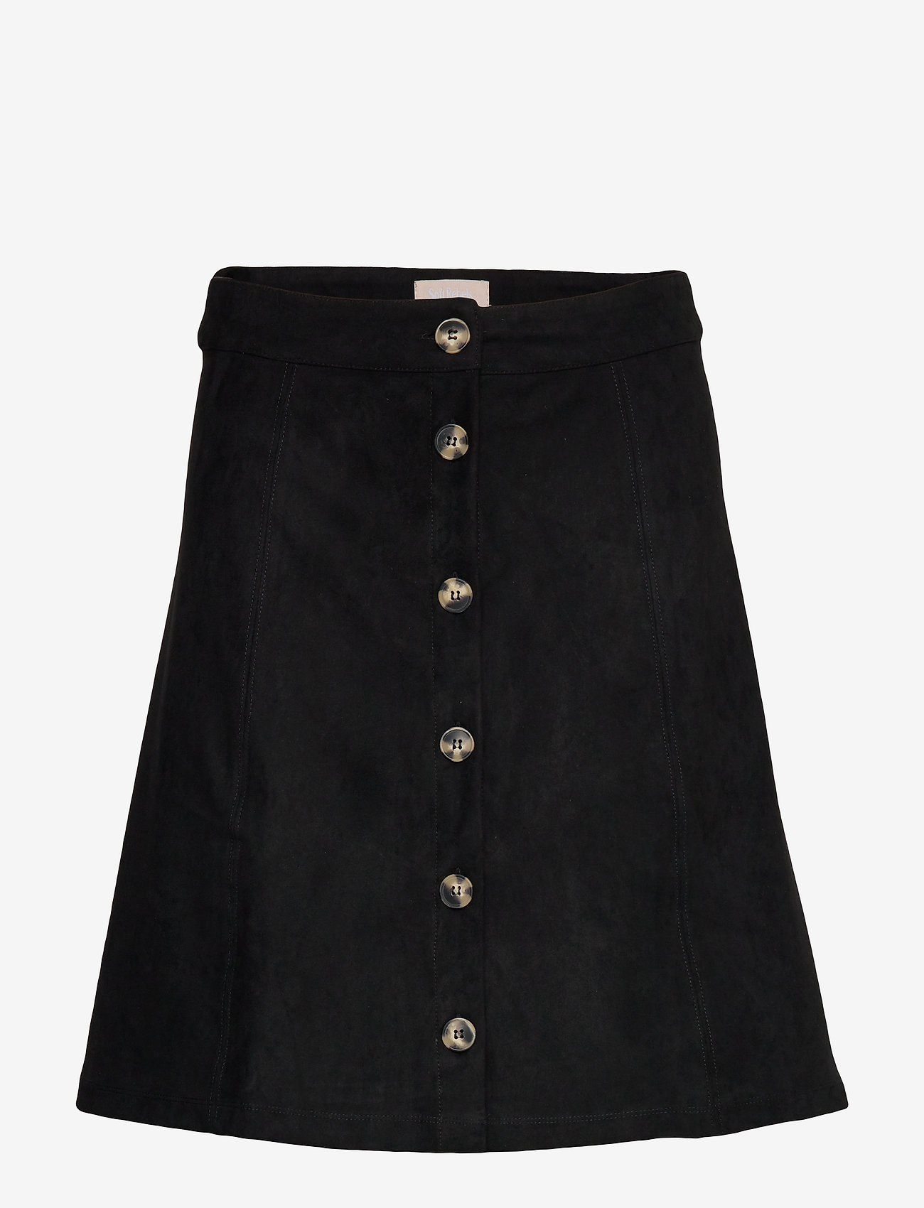 Soft Rebels - Kamma Skirt - korte nederdele - black - 0