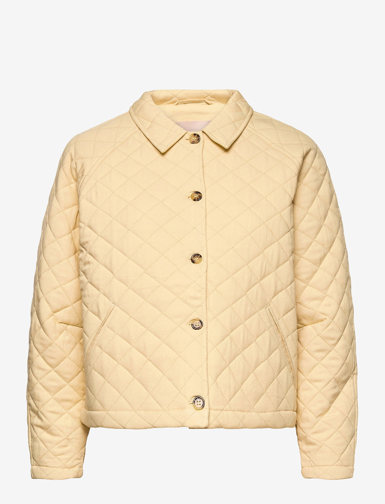 Soft Rebels - SRRoberta Jacket - quilted jackets - reed yellow - 1