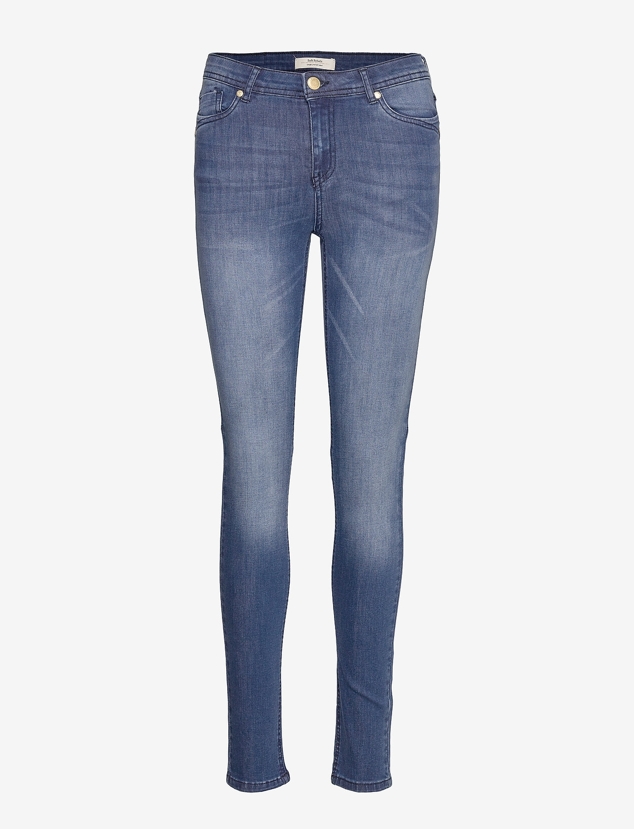 Soft Rebels - Cindy Straight Pant - straight jeans - dark wash - 0