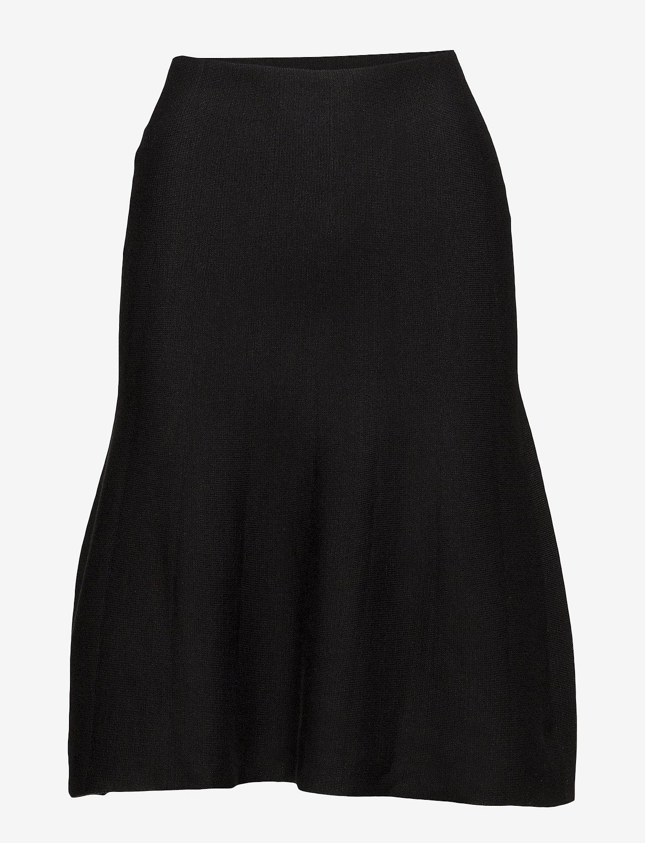 Soft Rebels - Henrietta Skirt - midi skirts - black - 1