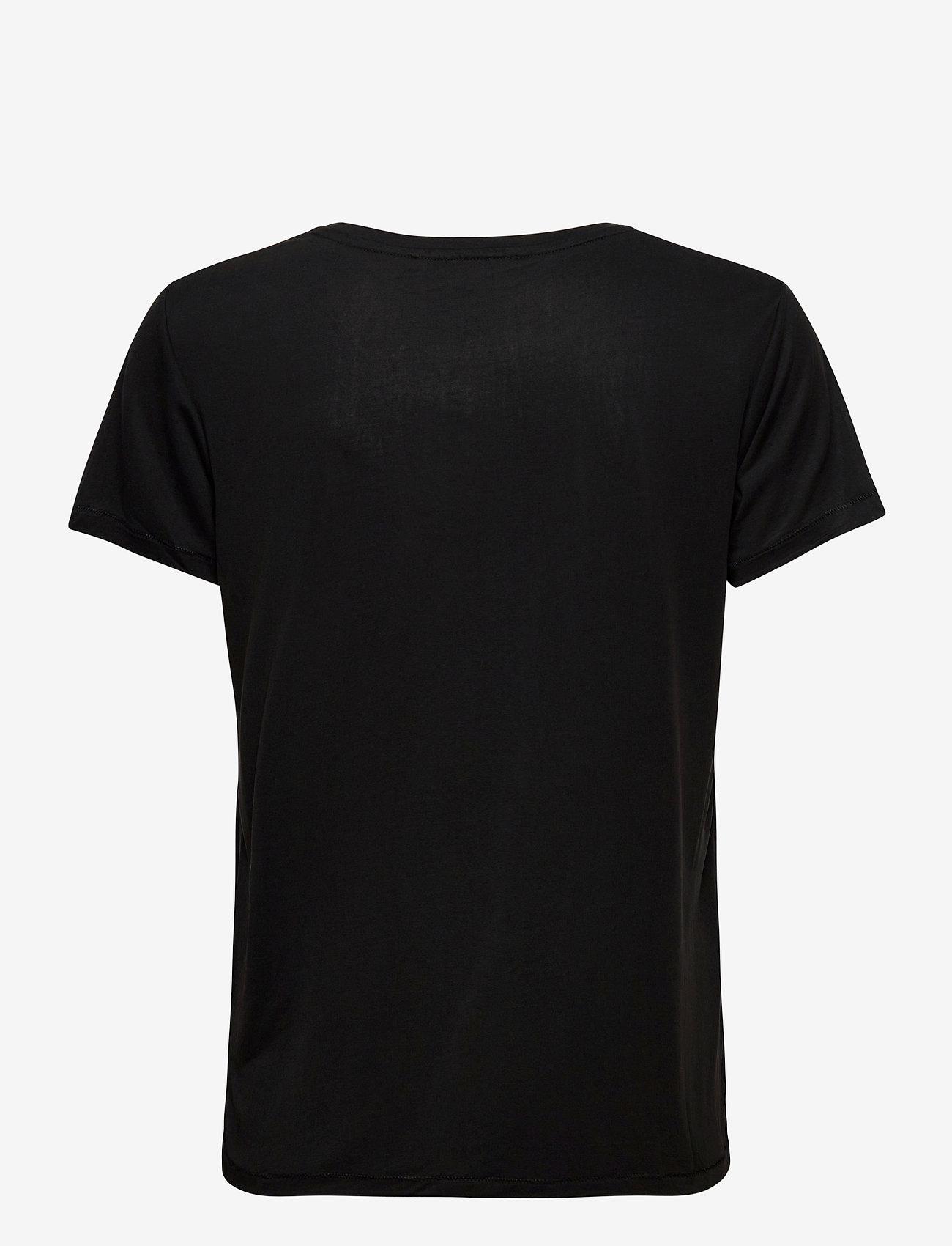 Soft Rebels - Ella T-shirt - t-shirts - black - 1