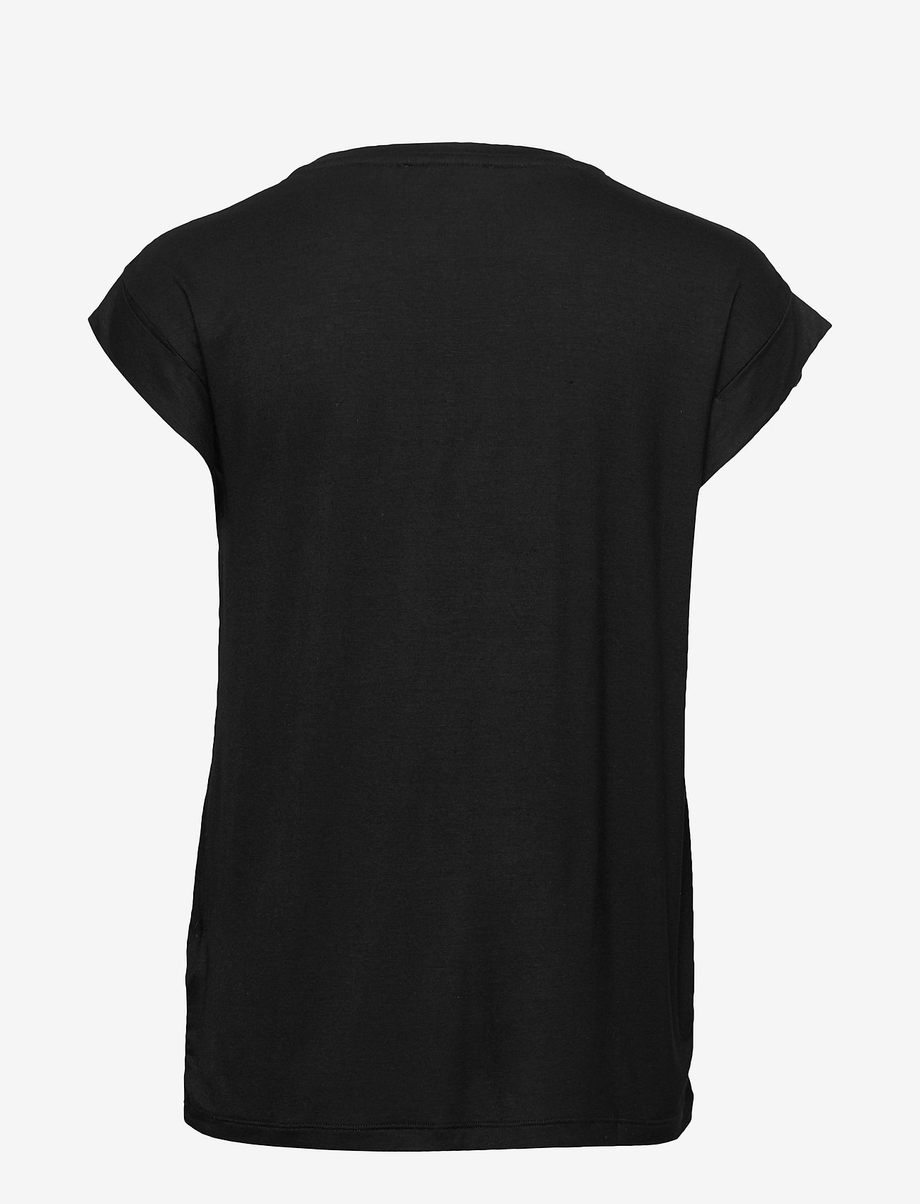 Soft Rebels - Embrace SS Top - t-shirts med tryk - black - 1