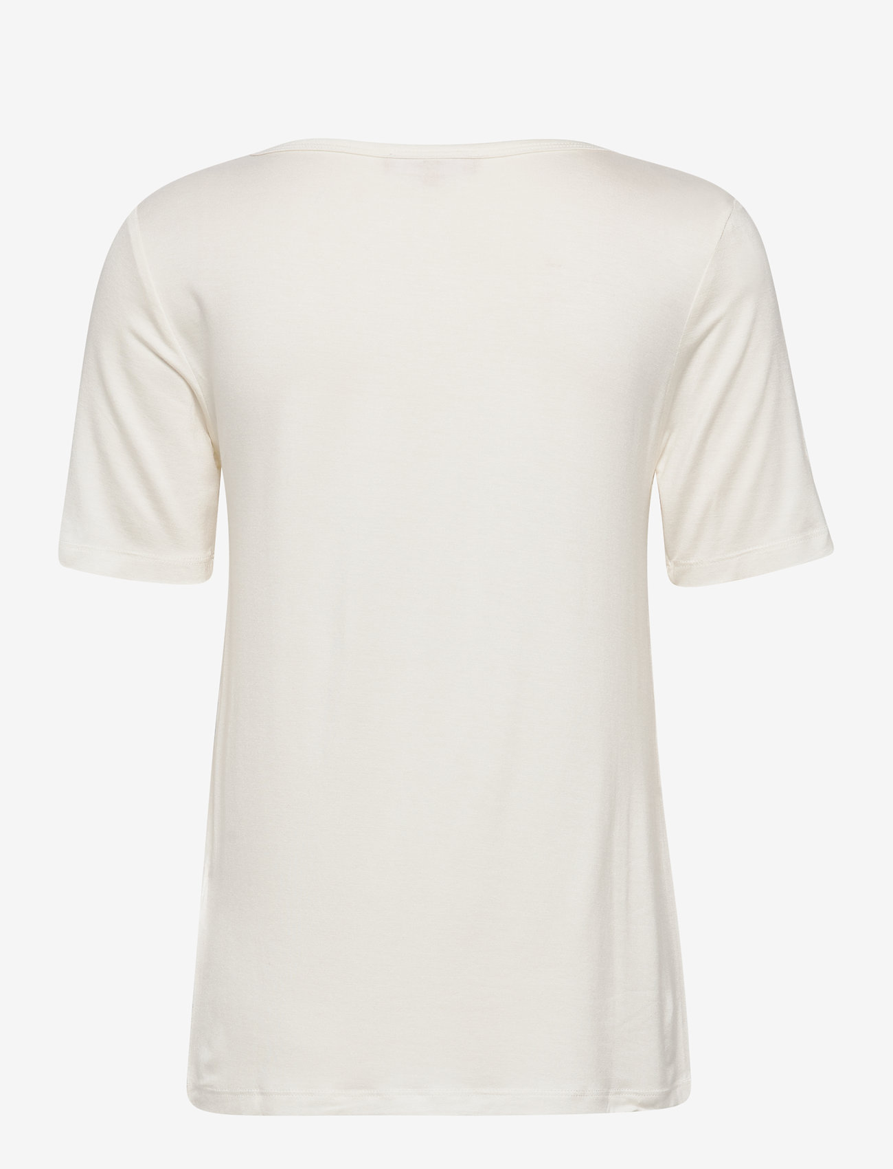 Soft Rebels - Kisses SS Top - t-shirts med tryk - snow white / off white - 1