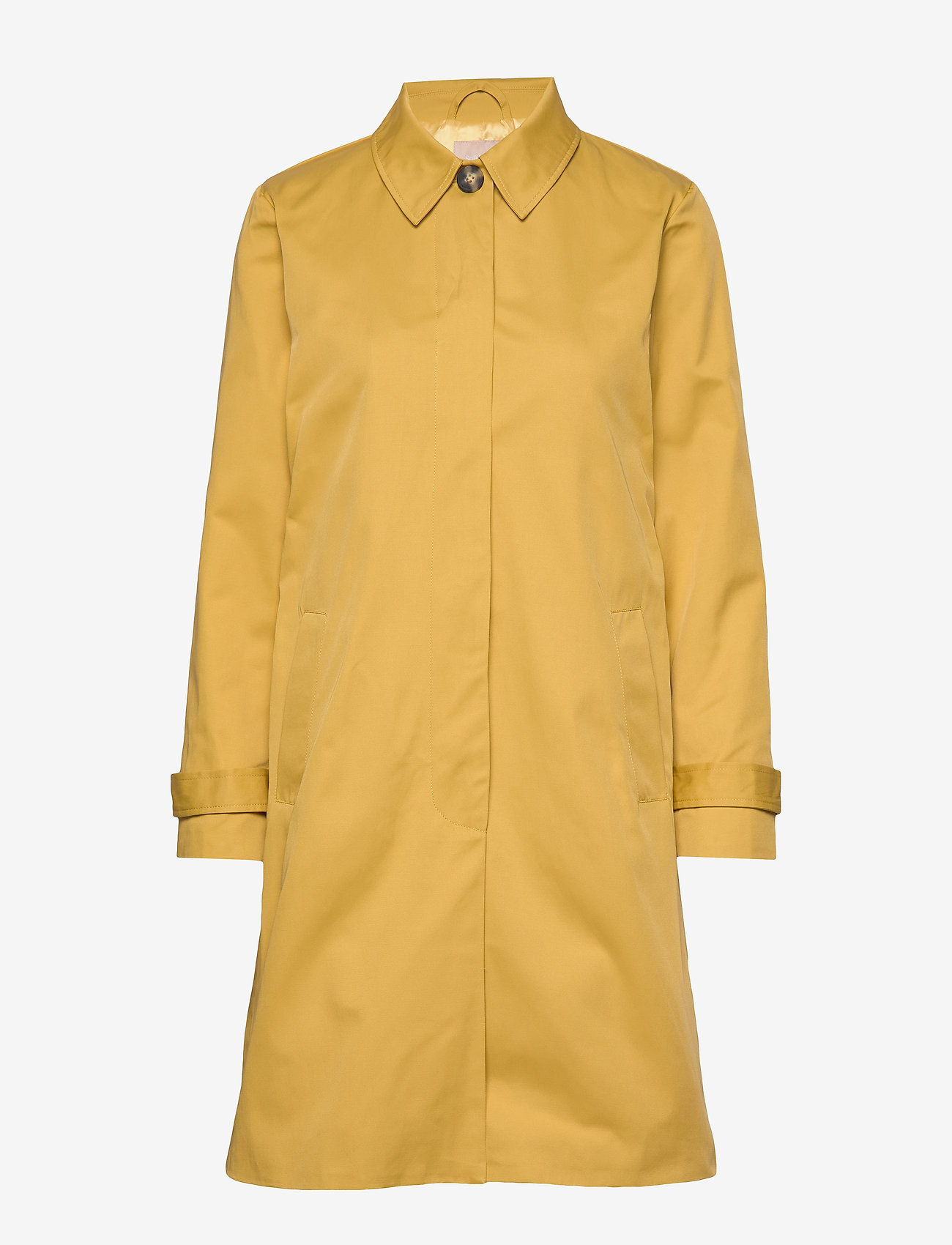 Soft Rebels - Sol Trench Coat - trenchcoats - ochre - 1
