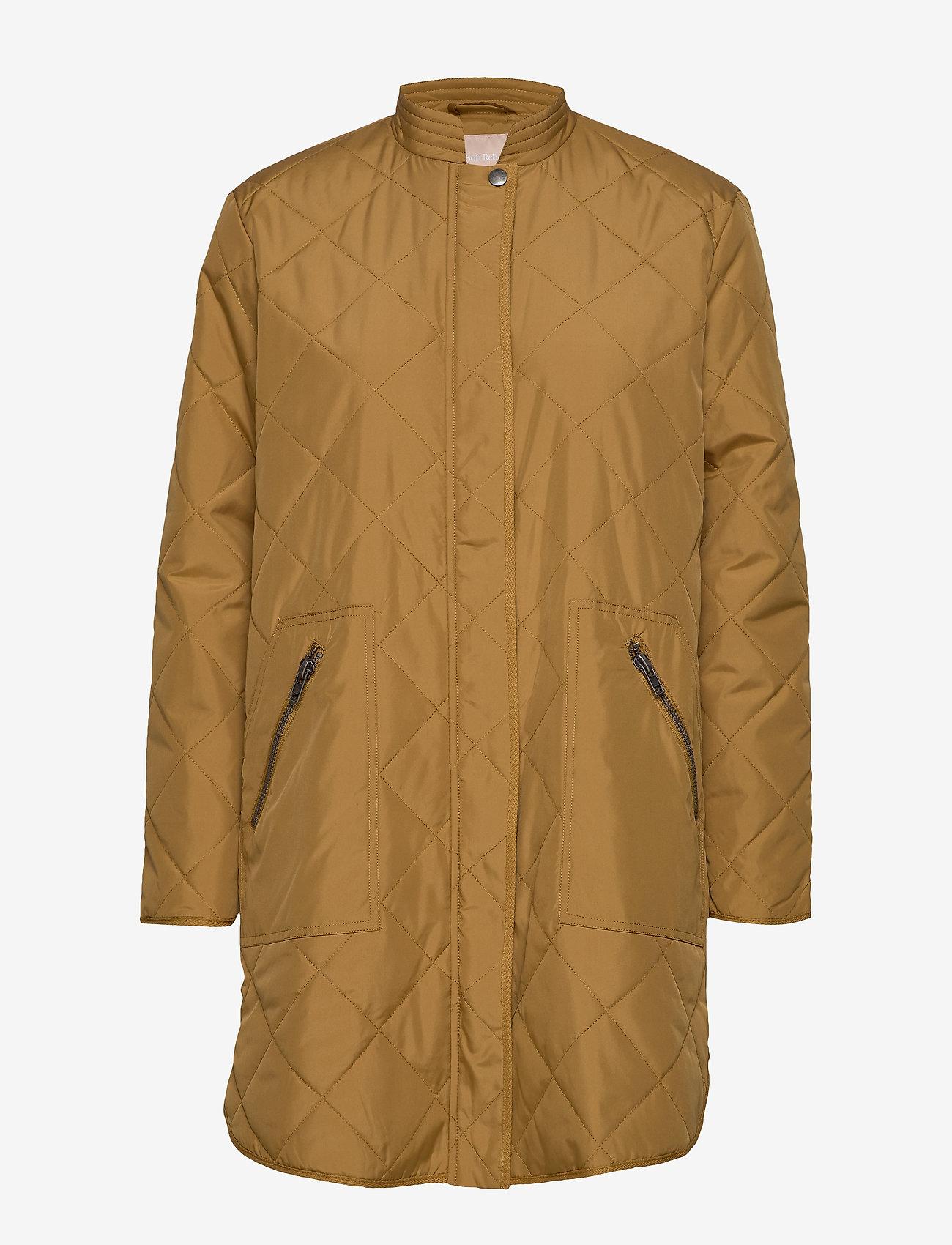 Soft Rebels - Shila Coat - quiltede jakker - cumin - 0