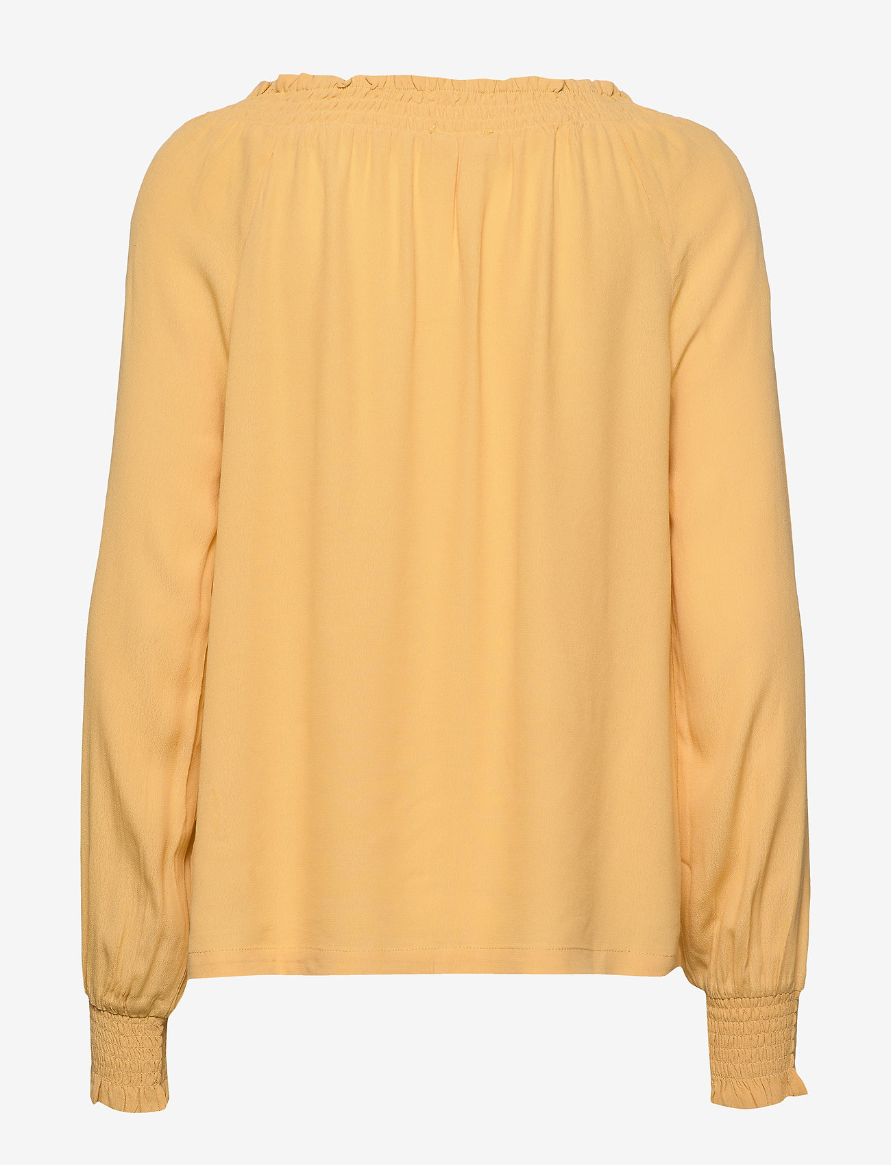 Soft Rebels - Move LS Top - long sleeved blouses - ochre - 1