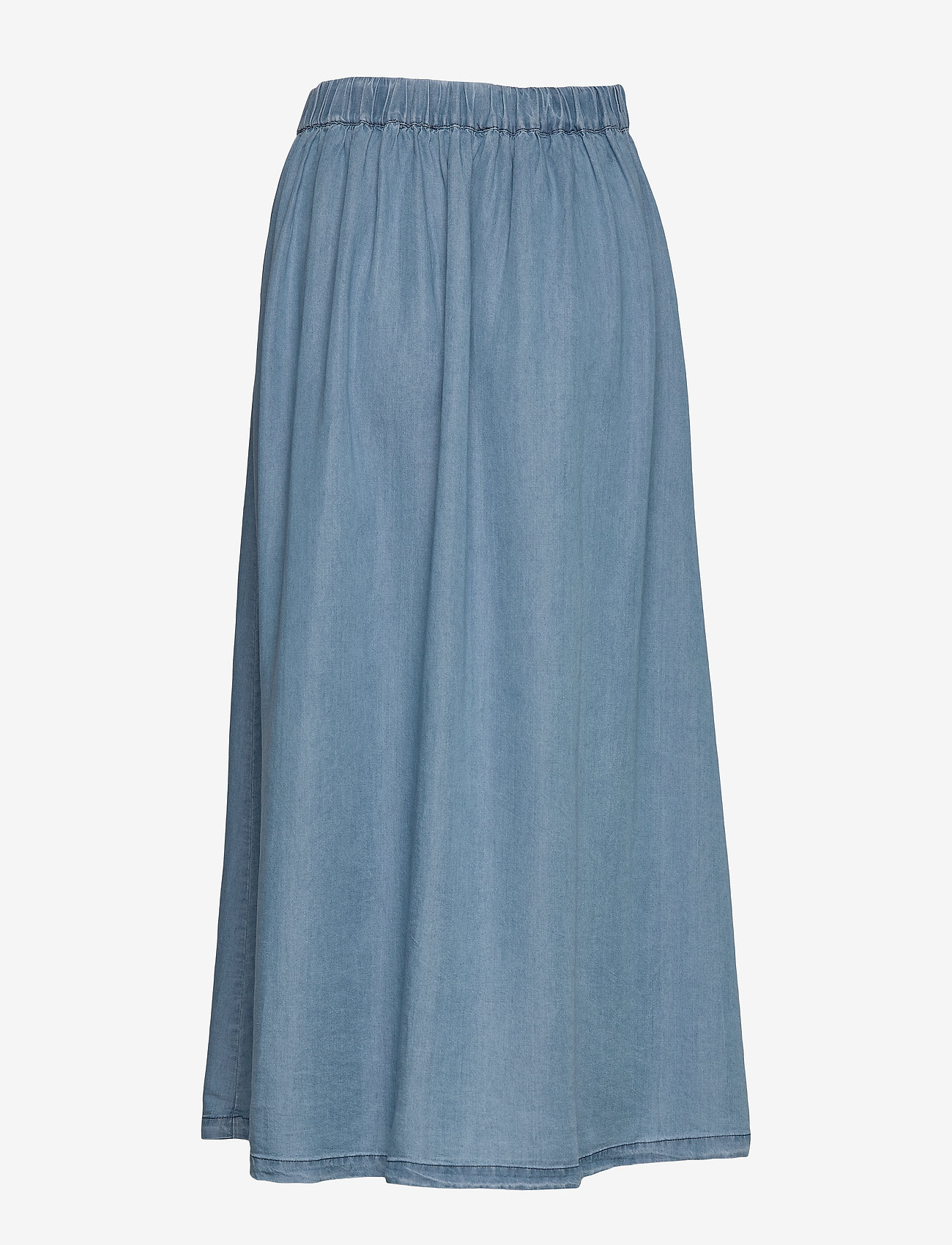 Soft Rebels - Moira Midi Skirt - denimnederdele - dark blue - 1
