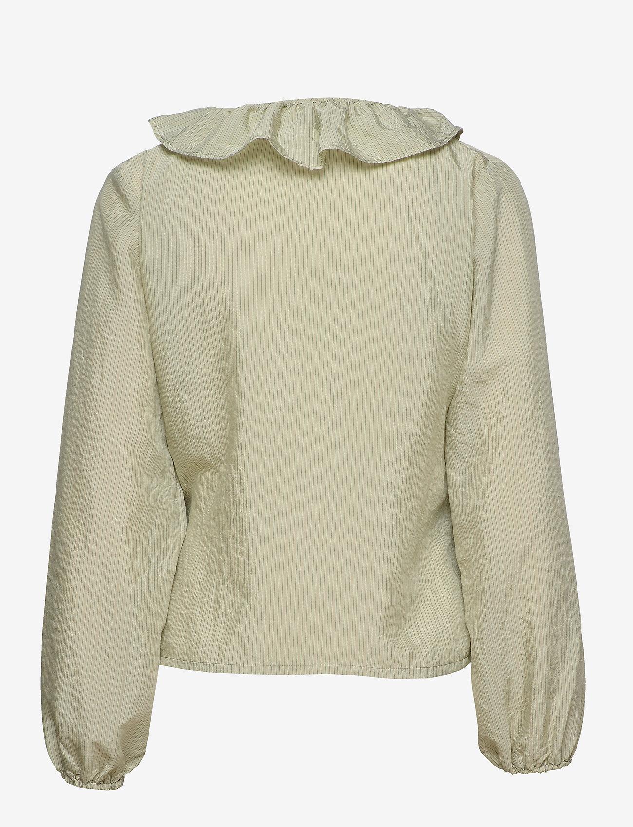 Soft Rebels - Ava LS Top - blouses med lange mouwen - tea - 1