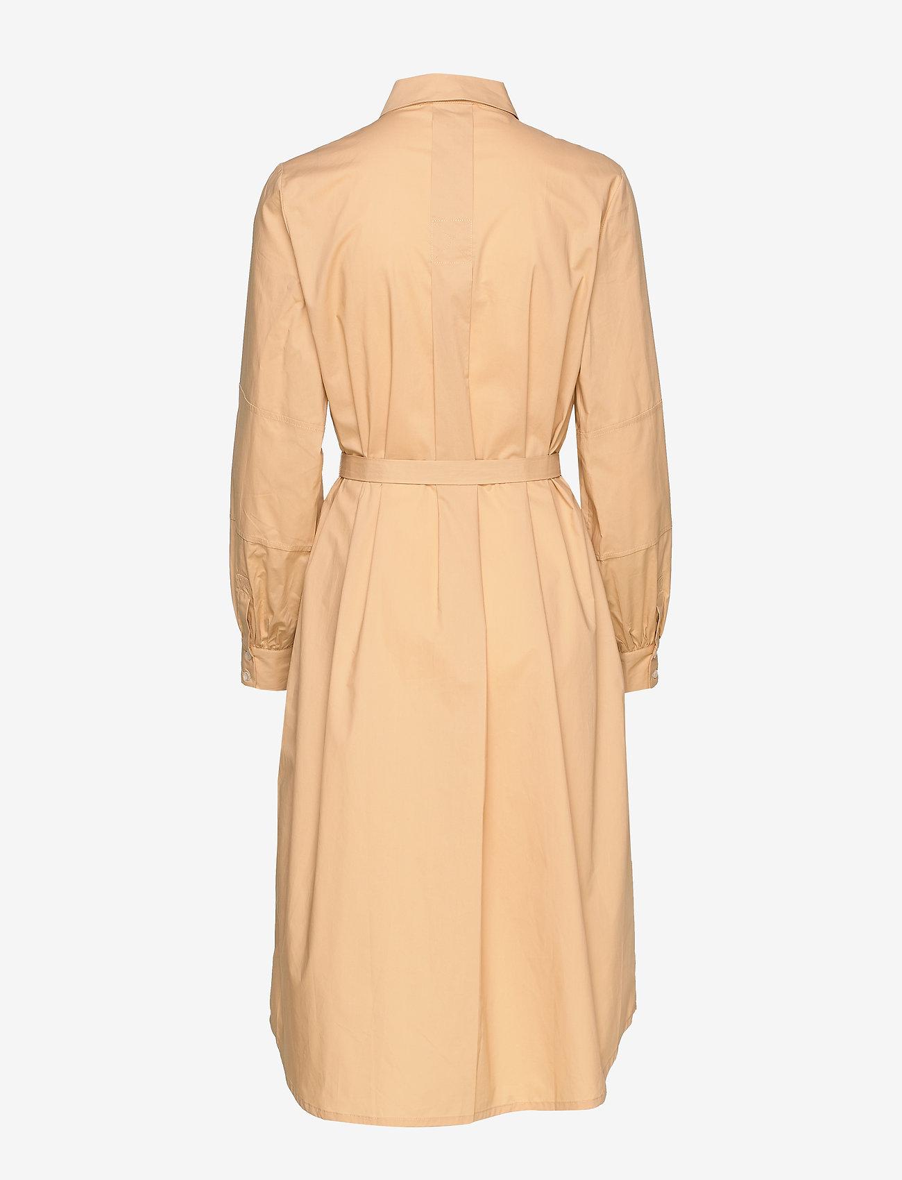 Soft Rebels Beatrice Midi Shirt Dress - Sukienki WARM SAND - Kobiety Odzież.