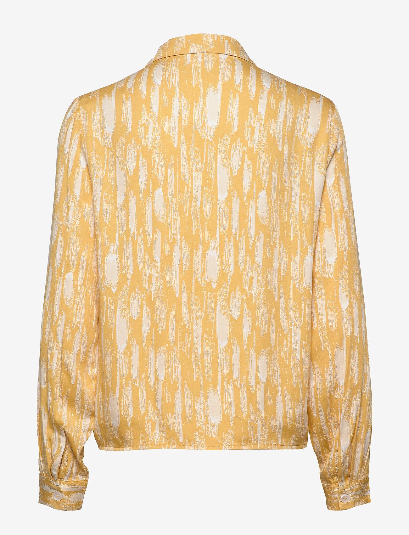 Soft Rebels - Blaze LS Tie Shirt Printed - blouses med lange mouwen - blaze print - 1
