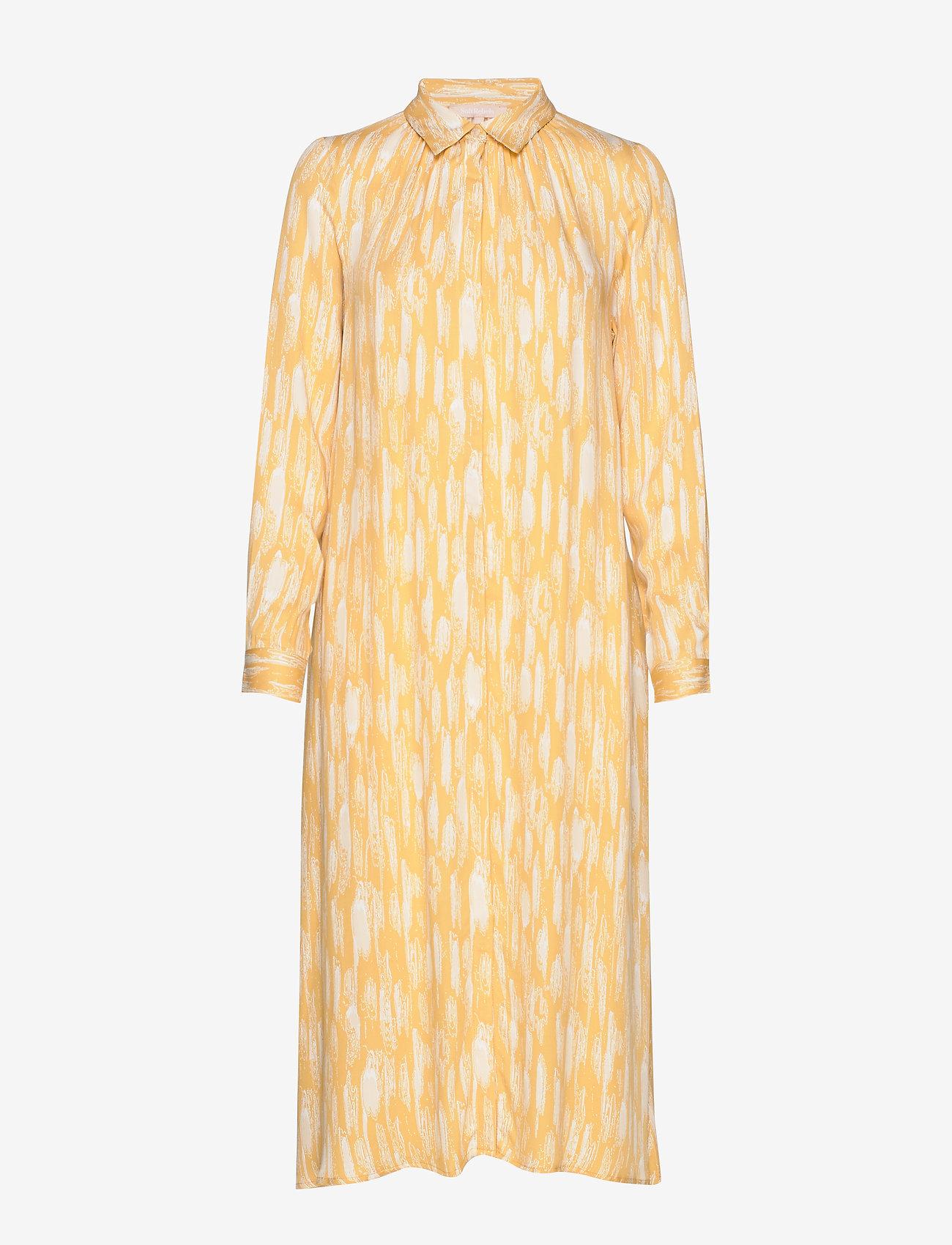 Blaze Ls Midi Shirt Dress Printed (Blaze Print) - Soft Rebels y0hcmF