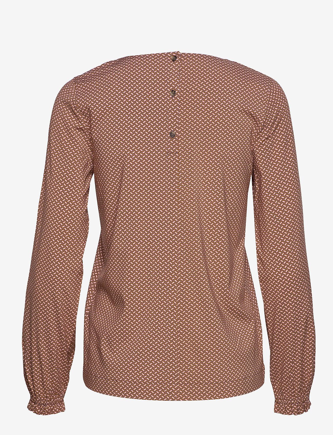 Soft Rebels - Hailey LS Top Printed - long sleeved blouses - hailey print - 1