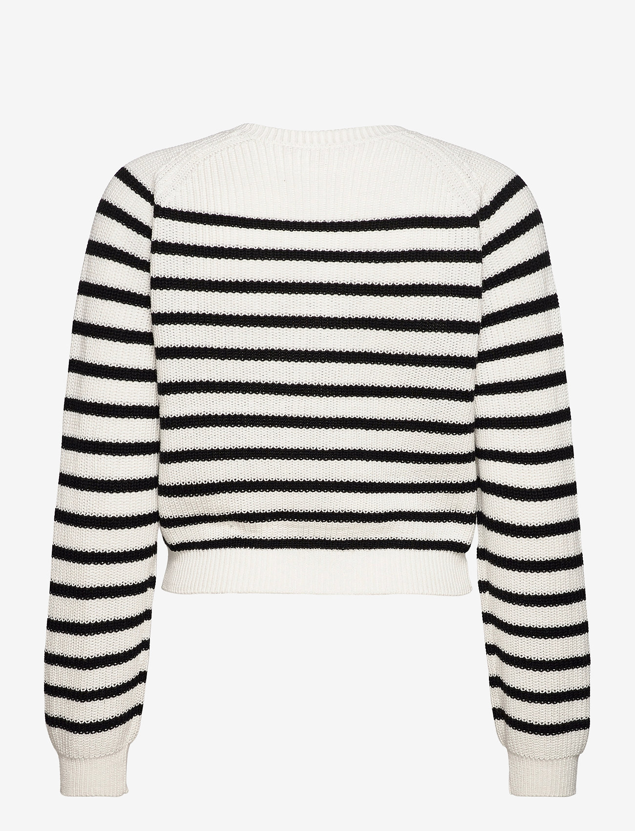 Soft Rebels - SRTammy LS O-neck Knit - sweaters - black - 1