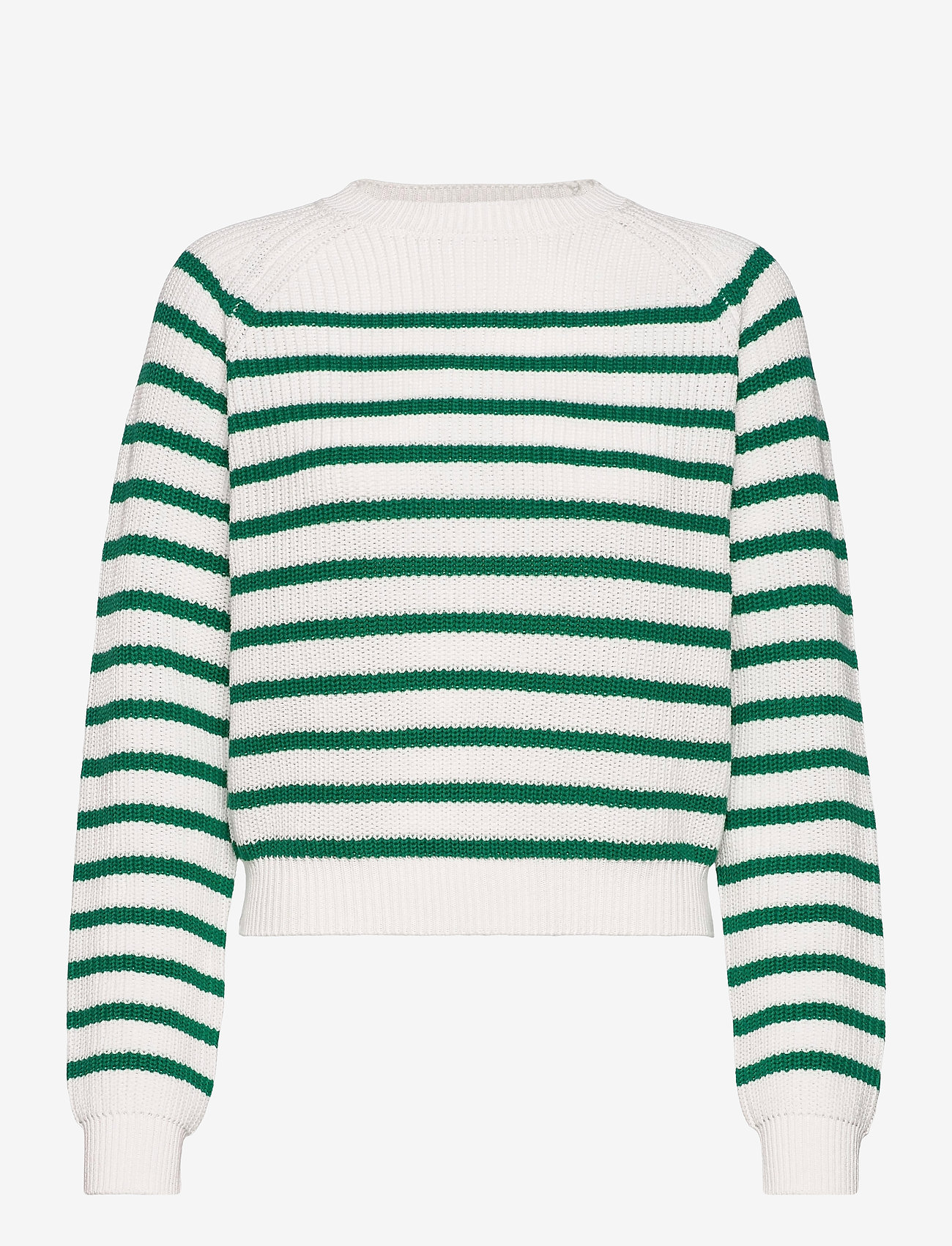 Soft Rebels - SRTammy LS O-neck Knit - sweaters - lush meadow - 0