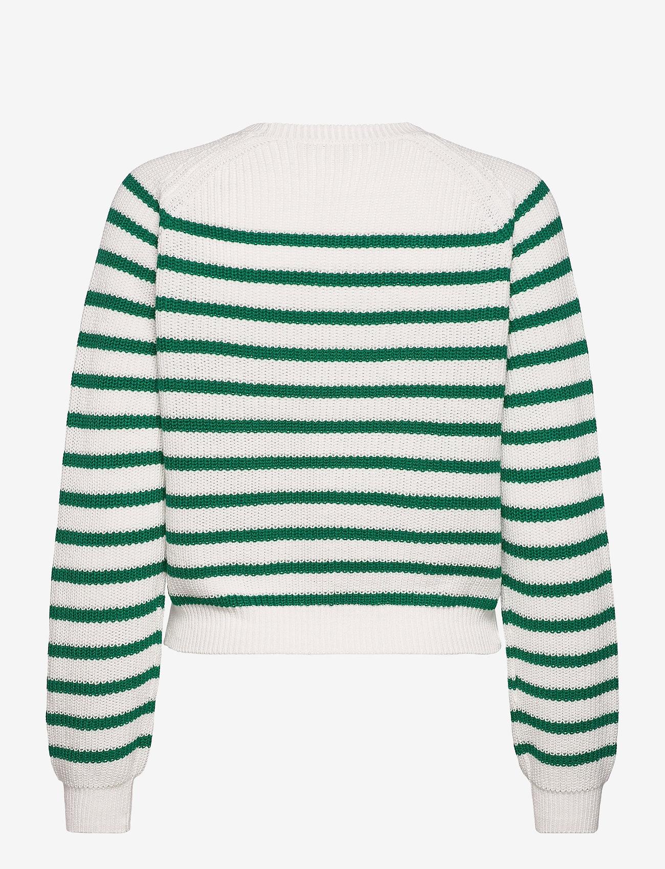 Soft Rebels - SRTammy LS O-neck Knit - sweaters - lush meadow - 1
