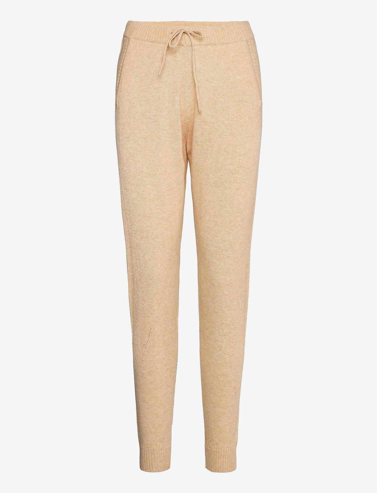 Soft Rebels - SRTamara Knit Pants - sweatpants - white pepper - 0