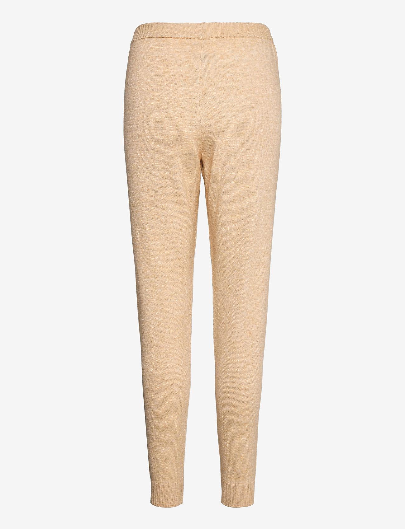 Soft Rebels - SRTamara Knit Pants - sweatpants - white pepper - 1