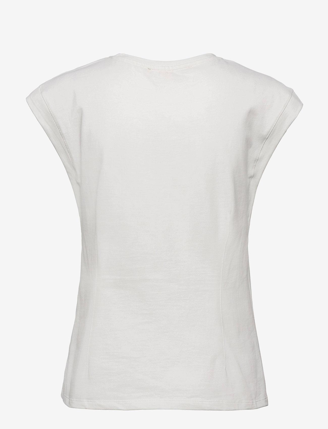 Soft Rebels - SRWinona SS Top - t-shirt & tops - snow white / off white - 1