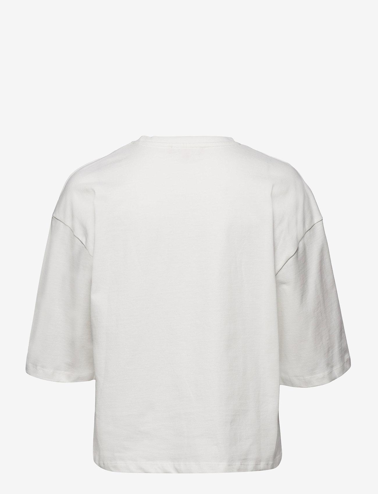 Soft Rebels - SRWinona 2/4 T-shirt - langærmede toppe - snow white / off white - 1