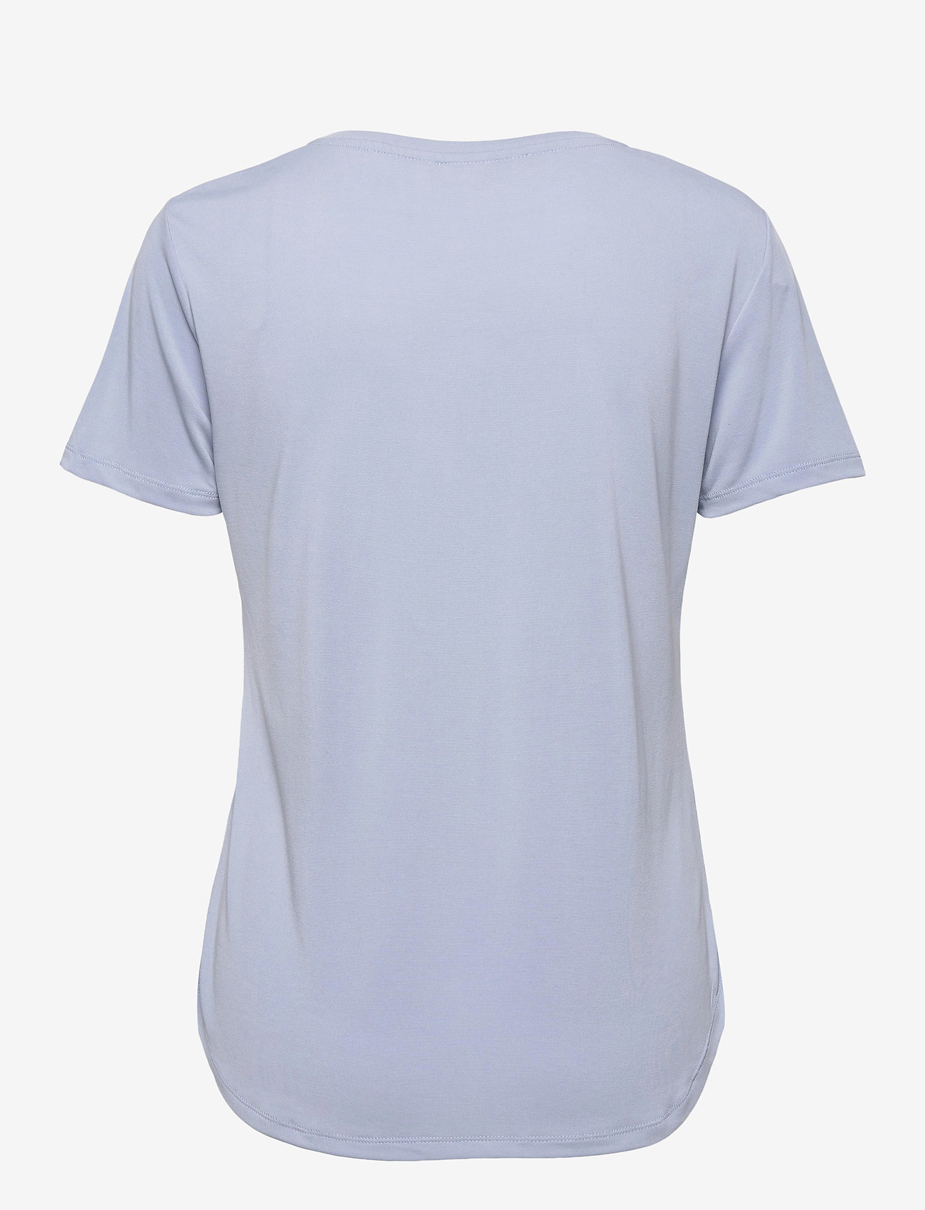 Soft Rebels - SRElla V-neck T-shirt - t-shirts - zen blue - 1