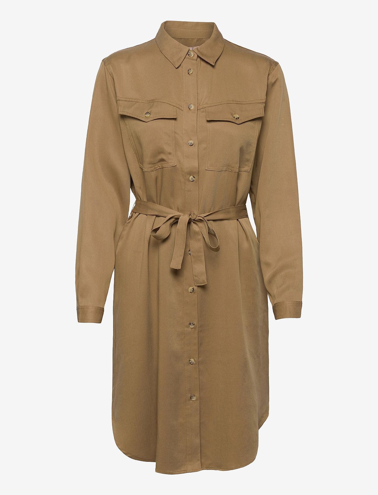 Soft Rebels - SRMonica Shirt Dress - summer dresses - dijon - 0