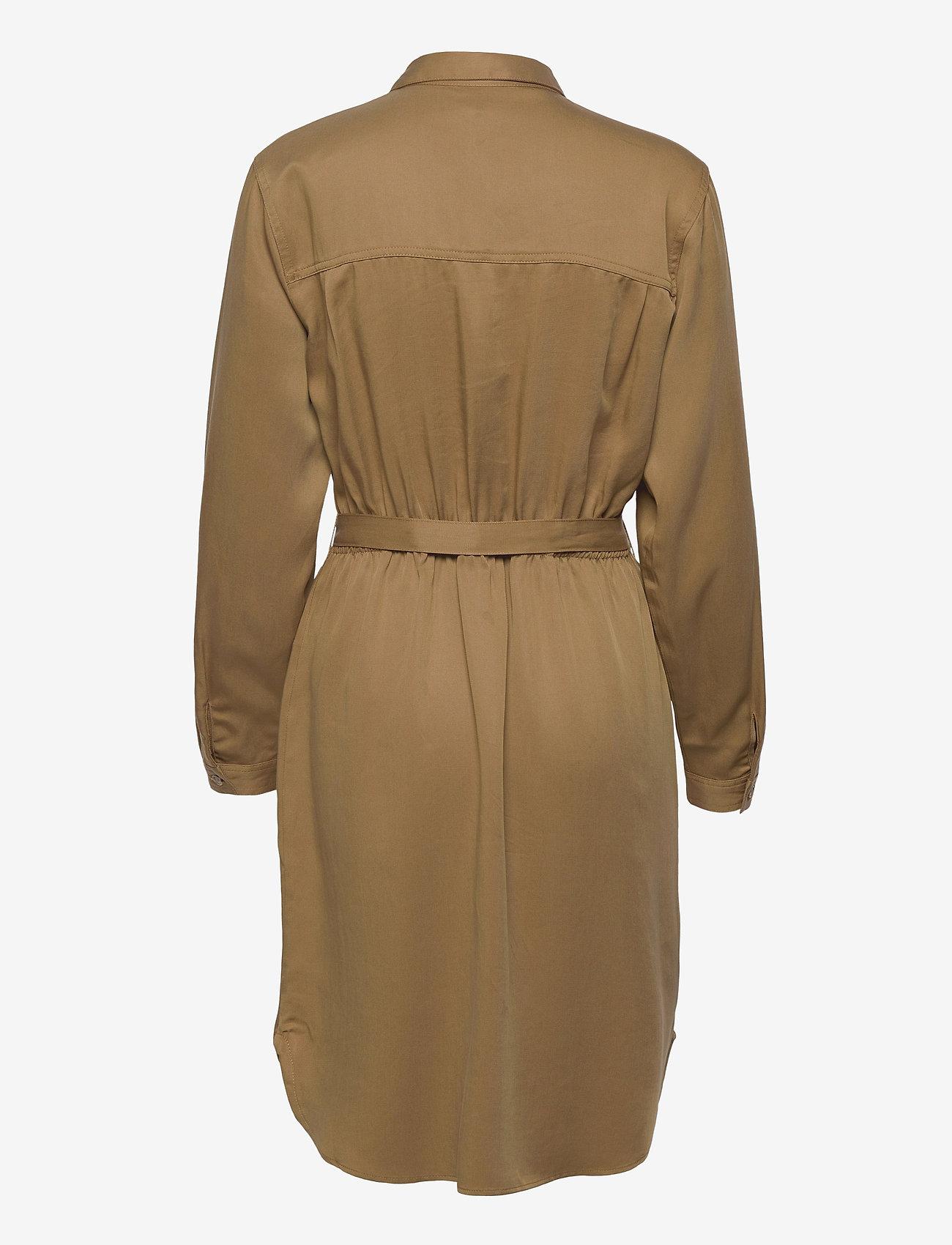 Soft Rebels - SRMonica Shirt Dress - summer dresses - dijon - 1