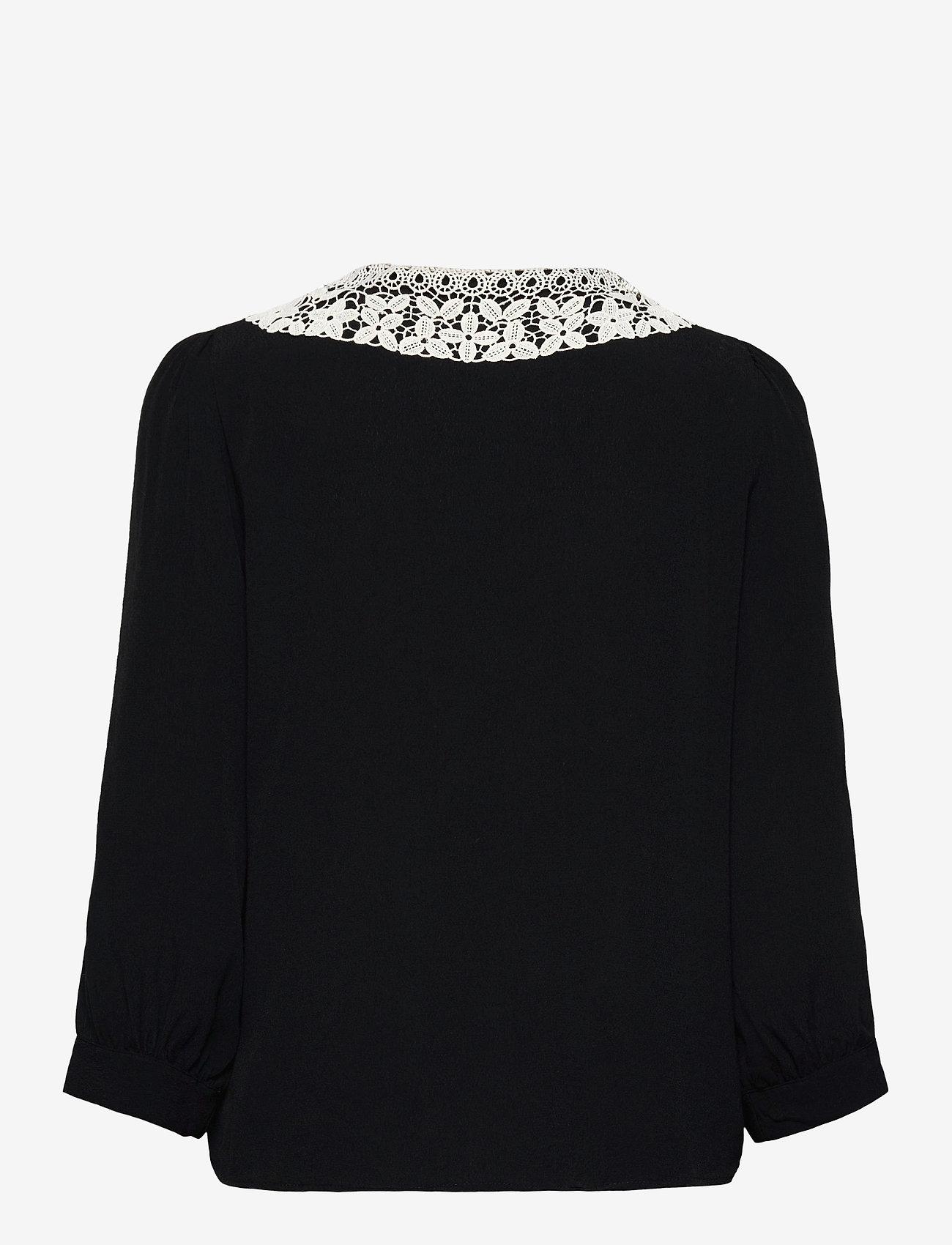 Soft Rebels - SRJudith 3/4 Shirt - long sleeved blouses - black - 1