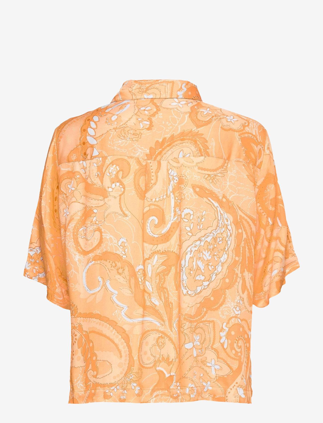 Soft Rebels - SRPennie 2/4 Shirt - short-sleeved shirts - paisley print - 1