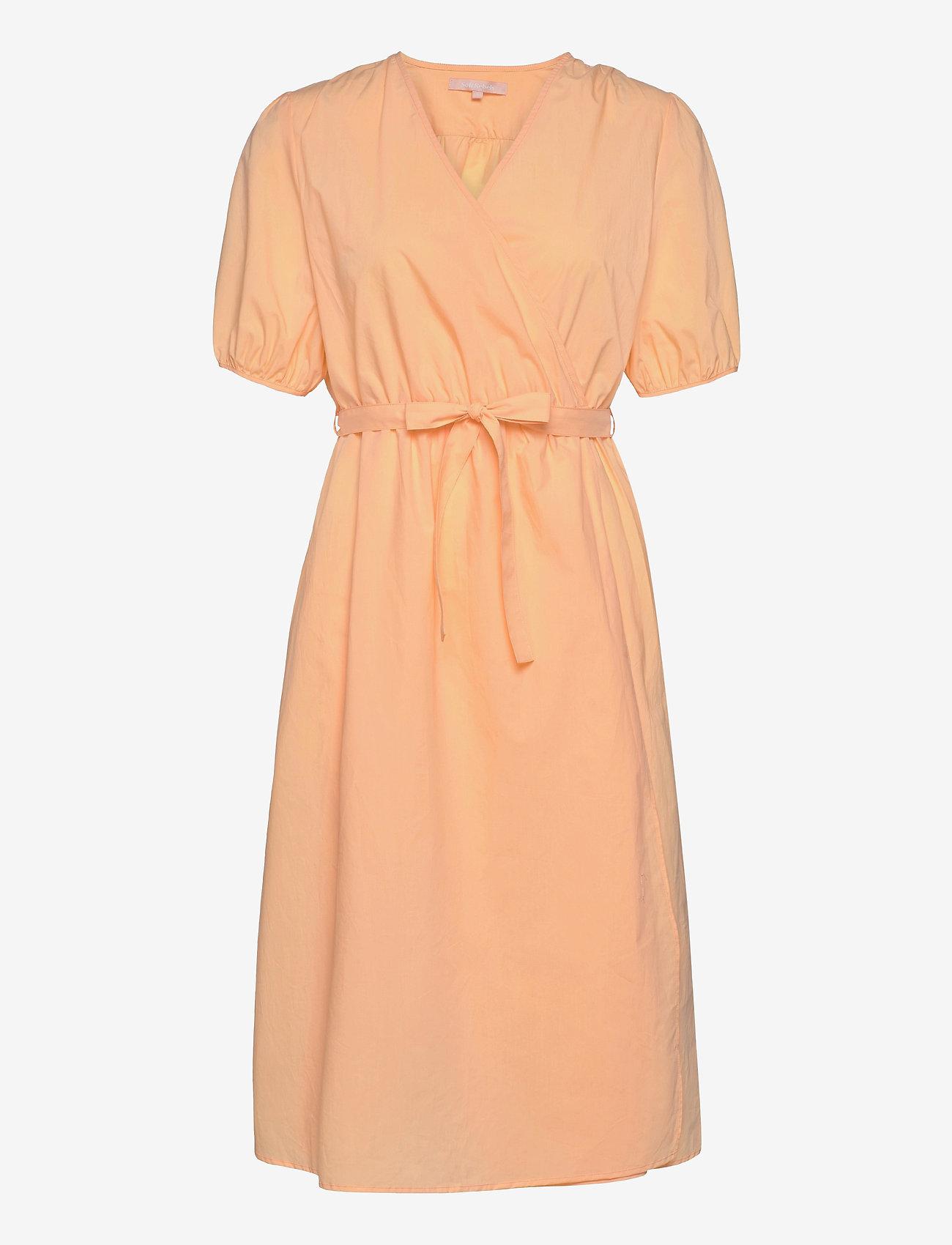 Soft Rebels - SRFika Wrap Dress - summer dresses - sunburst - 0