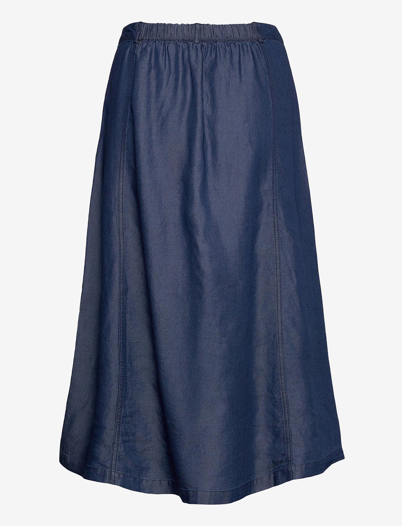 Soft Rebels - SRValeria Midi Skirt - midi skirts - rinse wash - 1