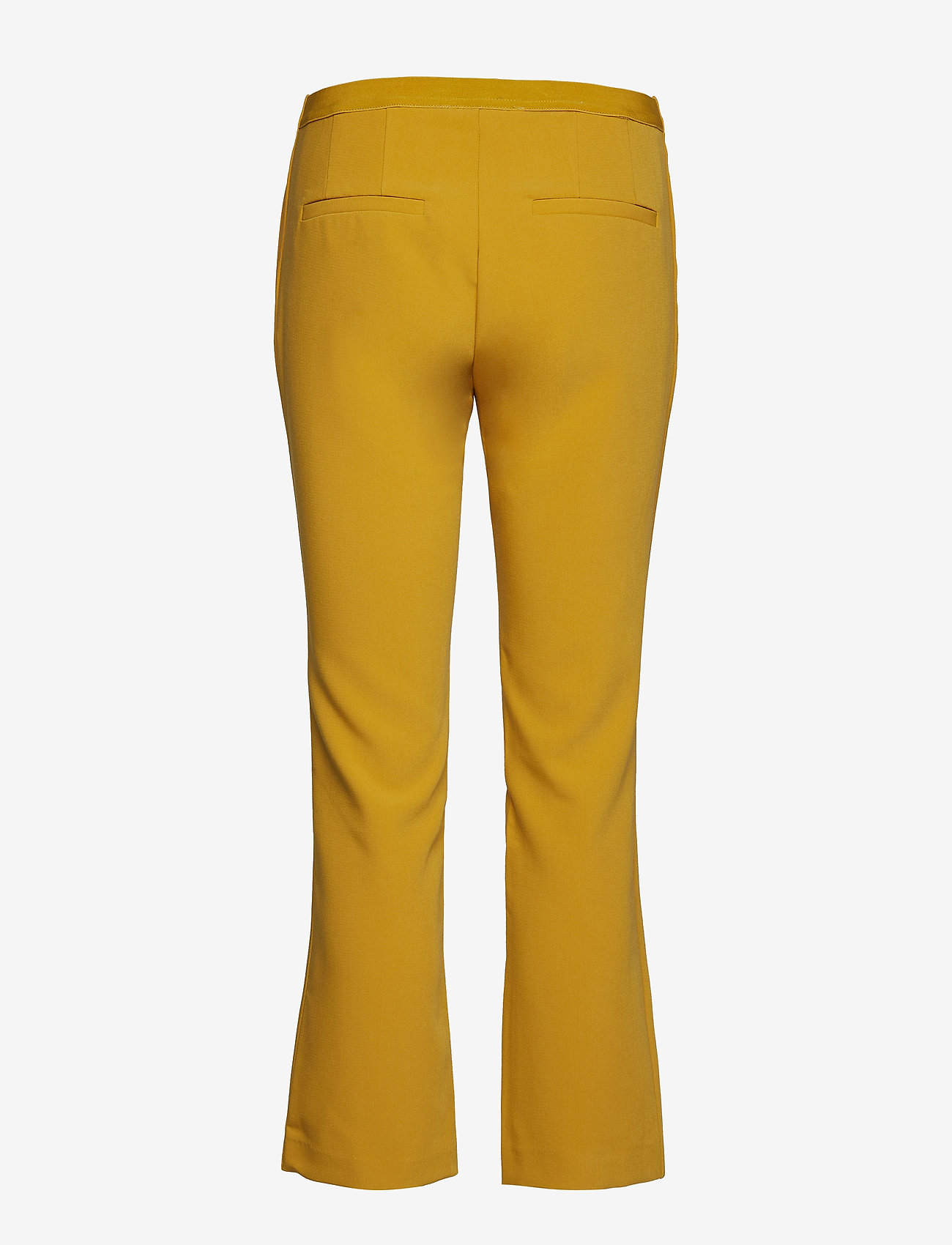 Soft Rebels - Trissa Kick Flared Pant - uitlopende broeken - ceylon yellow - 1