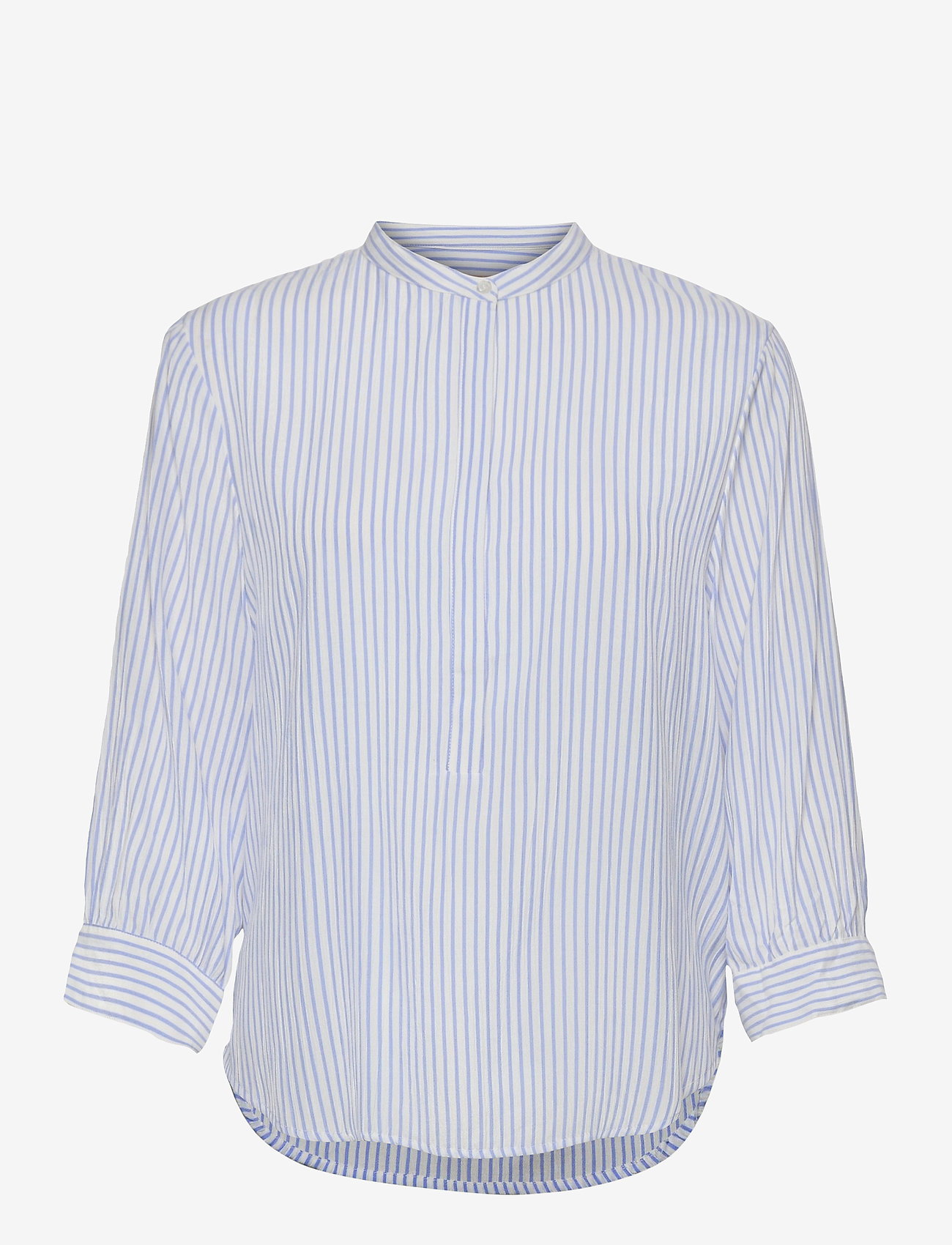 Soft Rebels - Allysia 3/4 Shirt - long-sleeved shirts - provence - 0