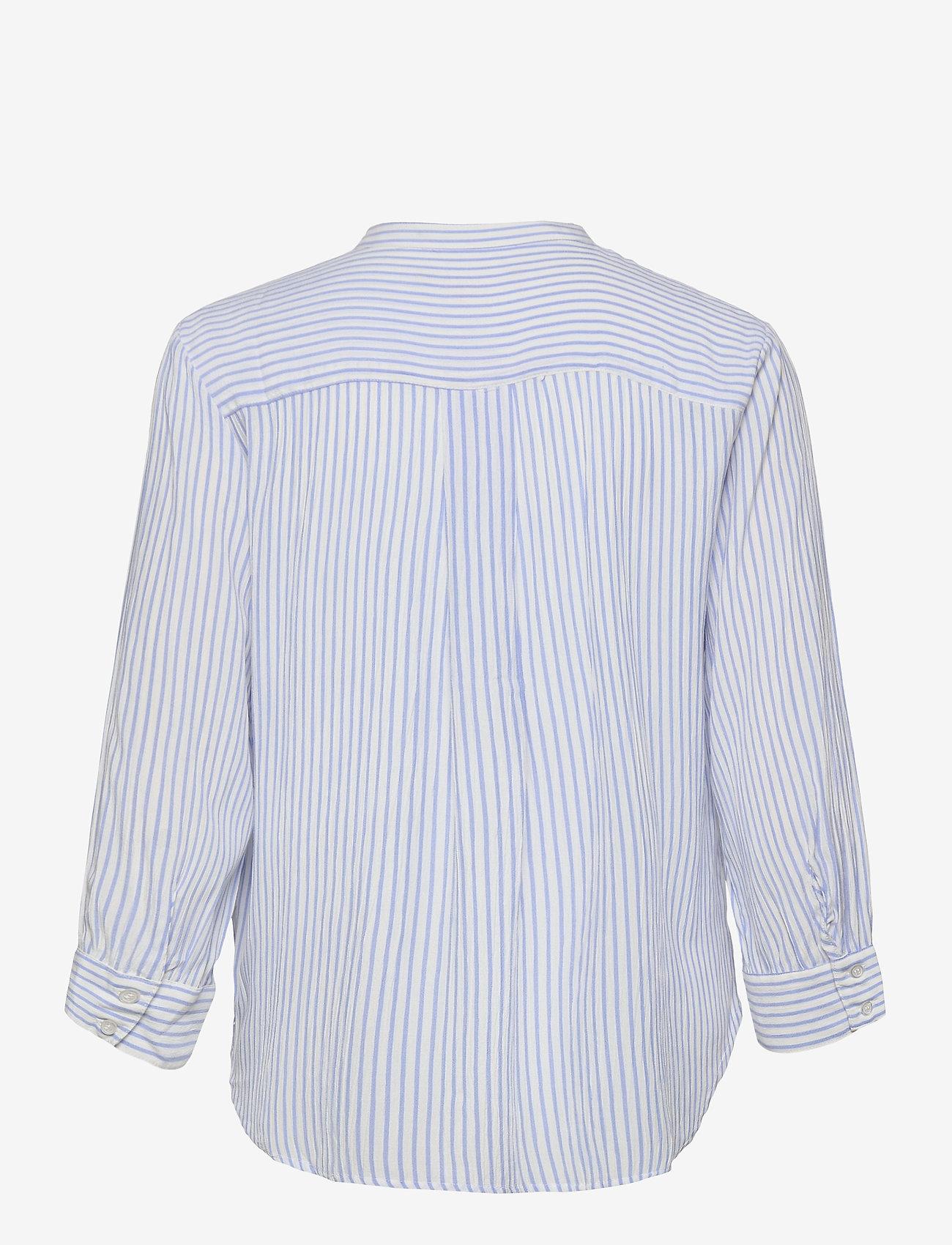 Soft Rebels - Allysia 3/4 Shirt - long-sleeved shirts - provence - 1
