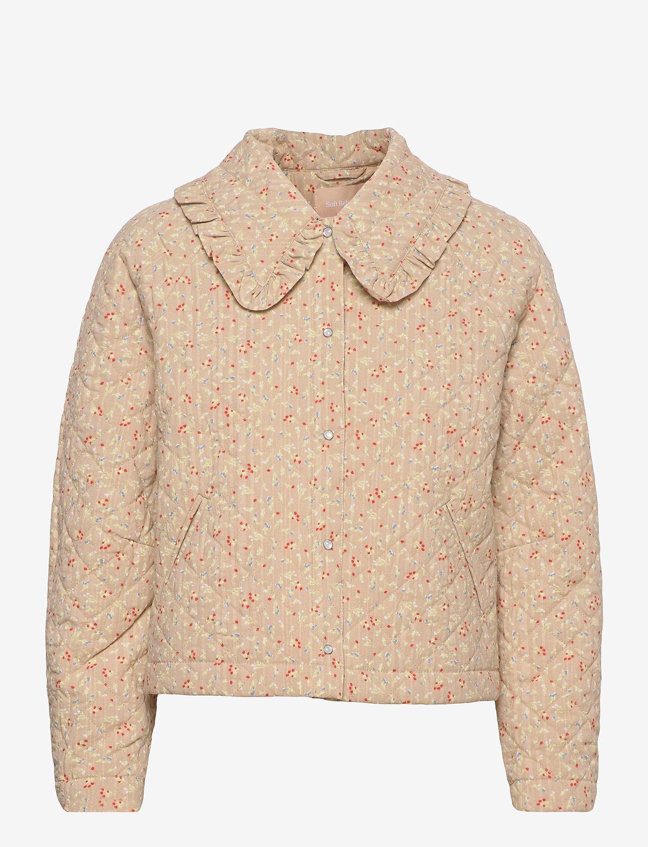 Soft Rebels - SRDana Jacket - quilted jackets - tiny flower pepper - 0