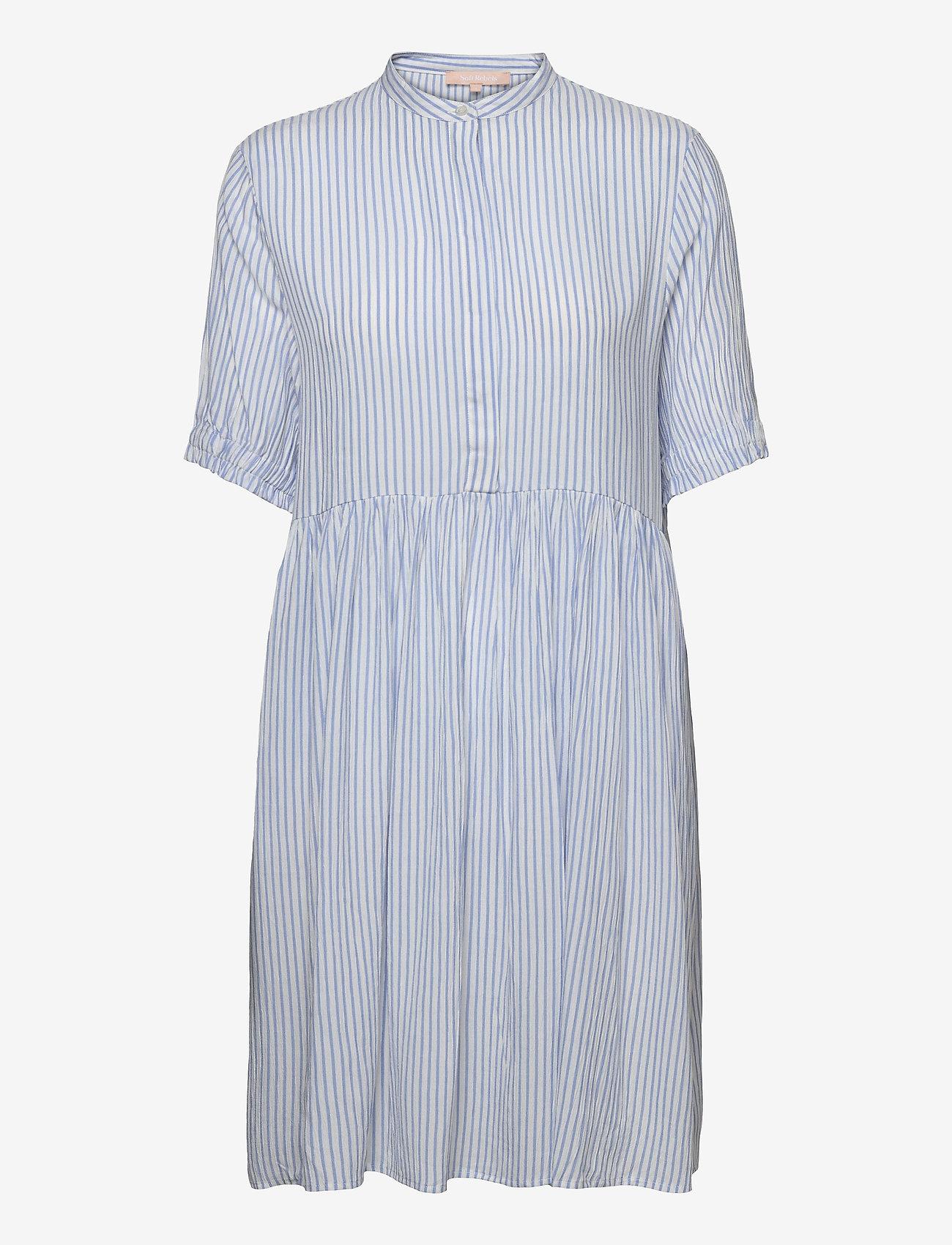 Soft Rebels - SRAllysia Dress - midi dresses - provence - 0