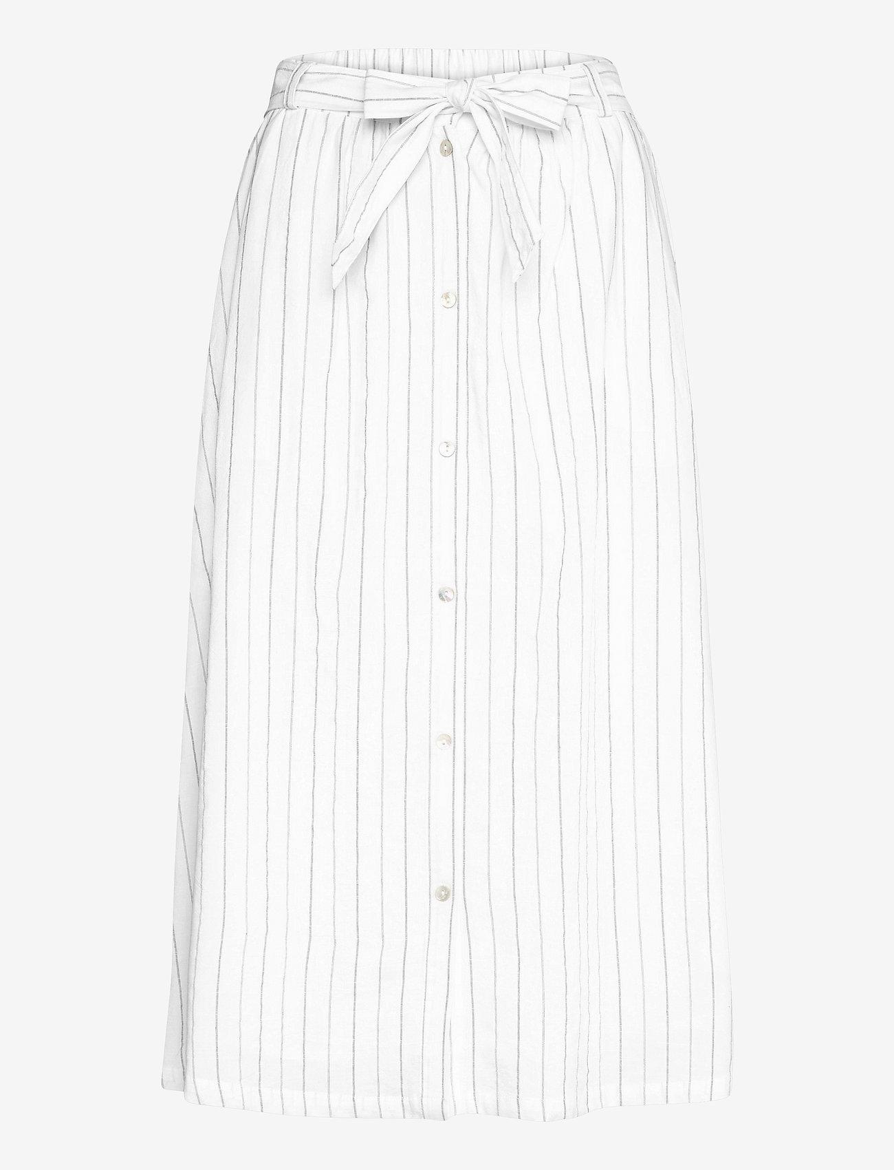 Soft Rebels - SRVickie HW Midi Skirt - midi skirts - snow white / off white - 0