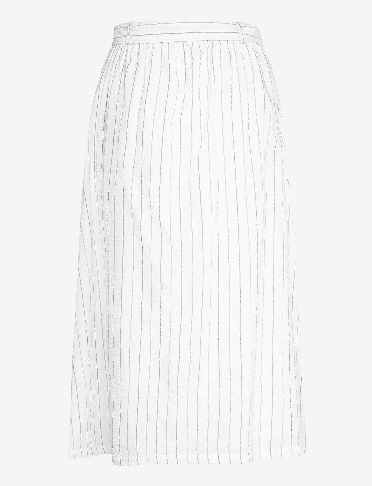 Soft Rebels - SRVickie HW Midi Skirt - midi skirts - snow white / off white - 1