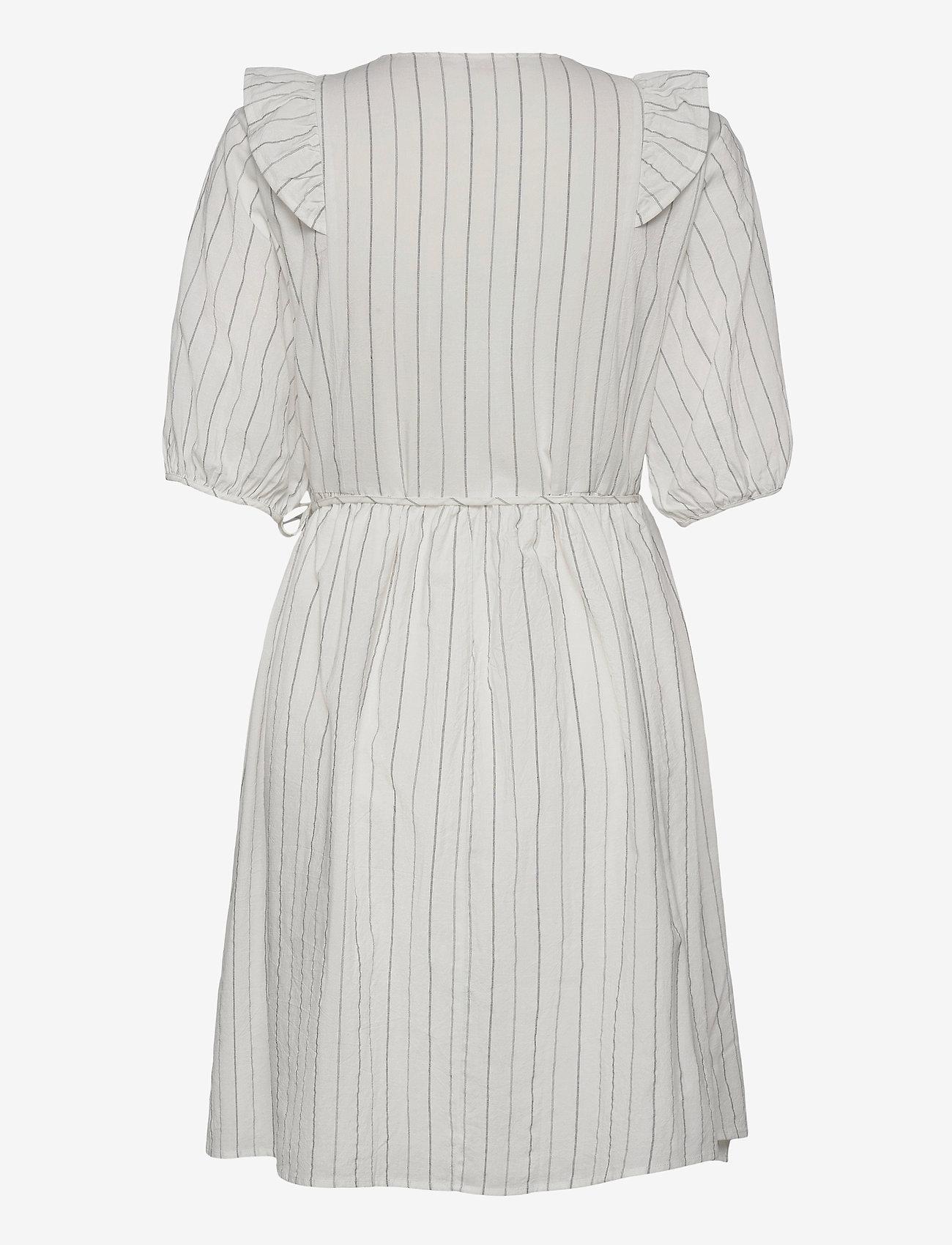 Soft Rebels - SRVickie Wrap Dress - sommerkjoler - snow white / off white - 1