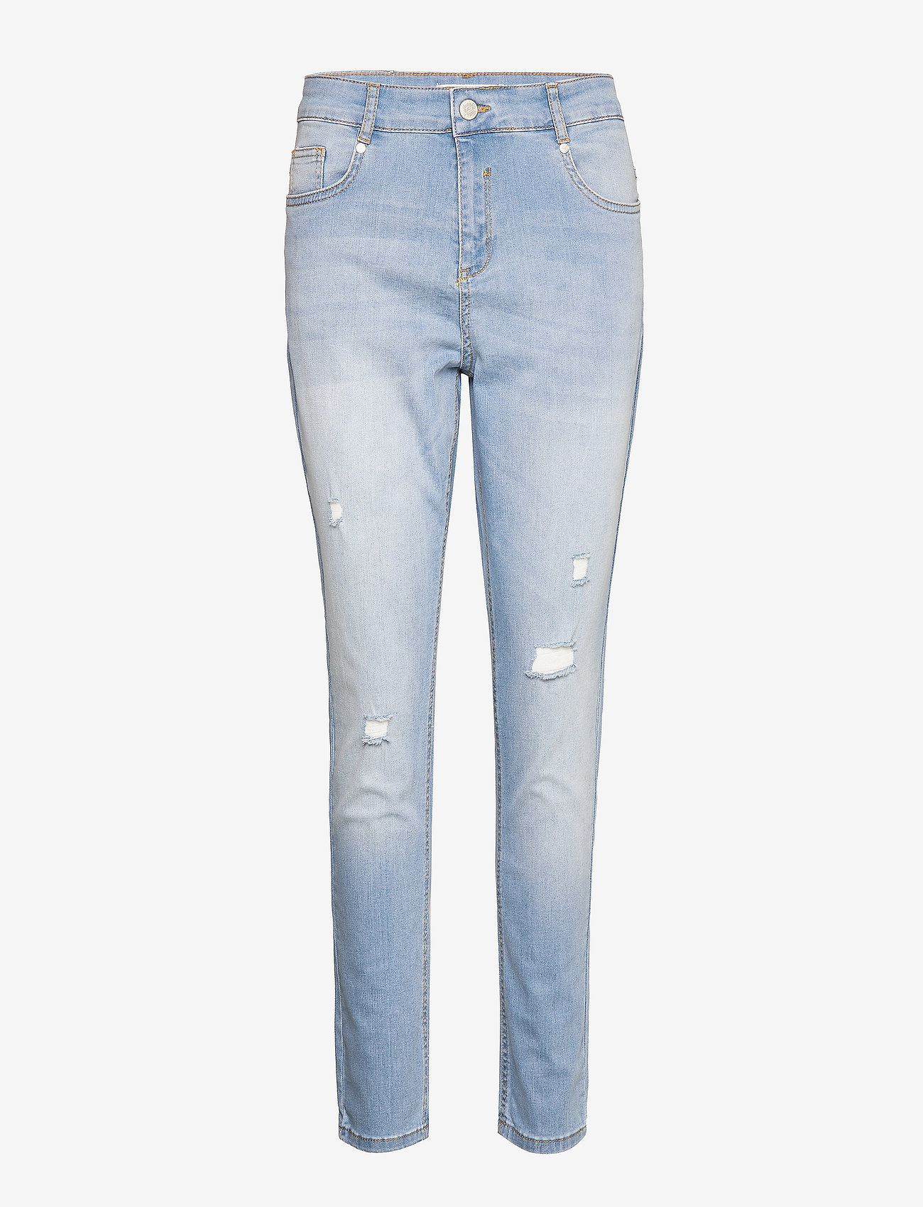 Soft Rebels - Cassy Boyfriend Pant - dżinsy chłopaka - light wash - 0
