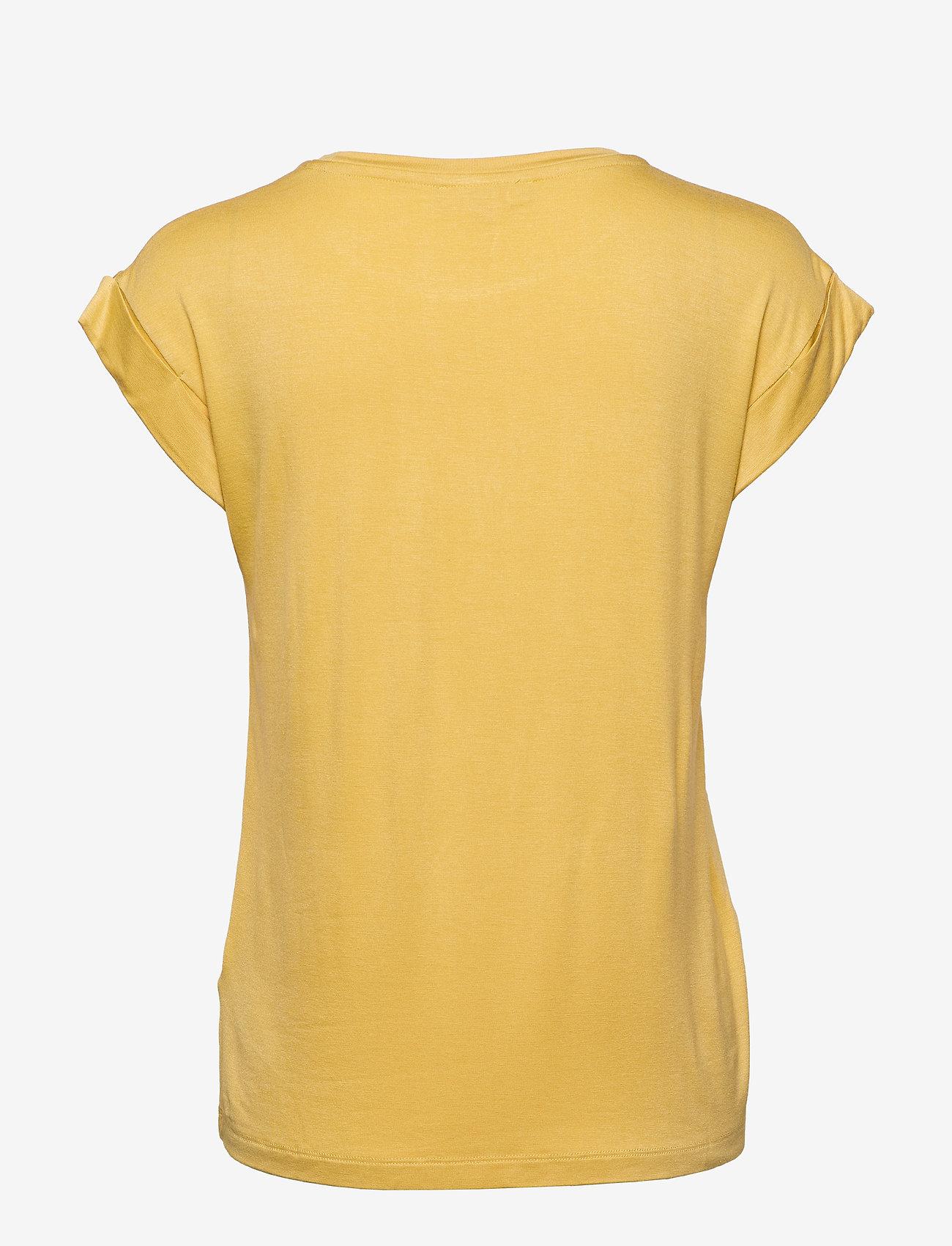 Soft Rebels - Dreamer T-shirt - t-shirts med tryk - rattan - 1