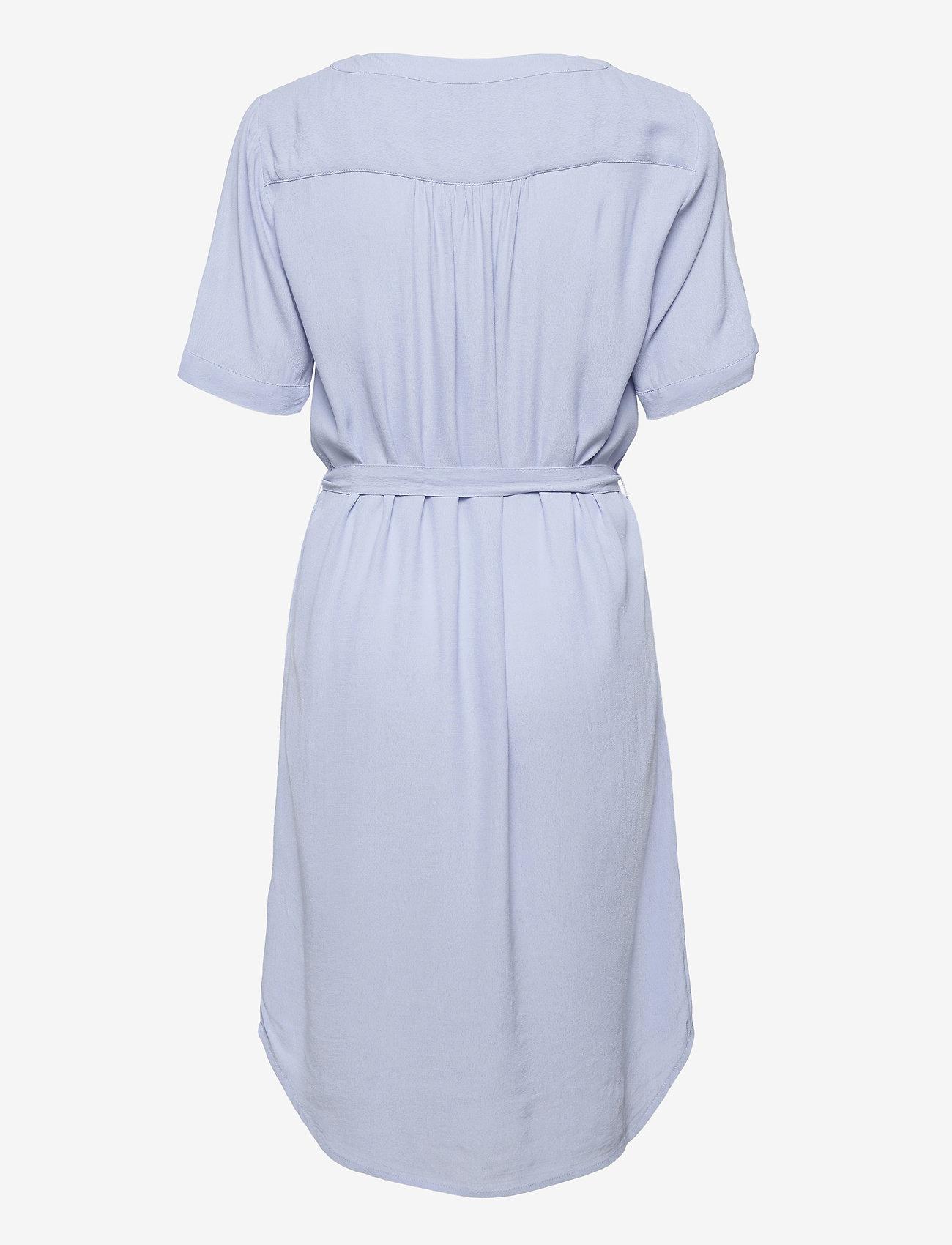 Soft Rebels - SRQuinn 2/4 Dress - midi dresses - zen blue - 1