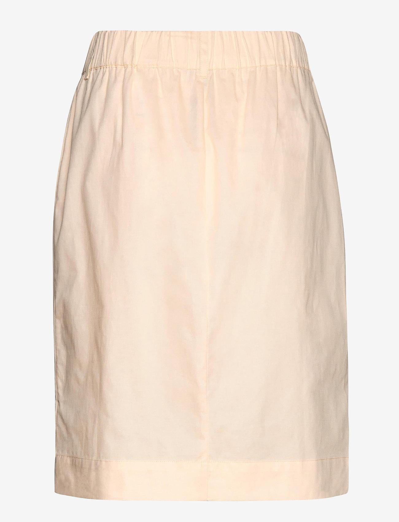 Soft Rebels - Gina Skirt - midi skirts - whitecap gray - 1