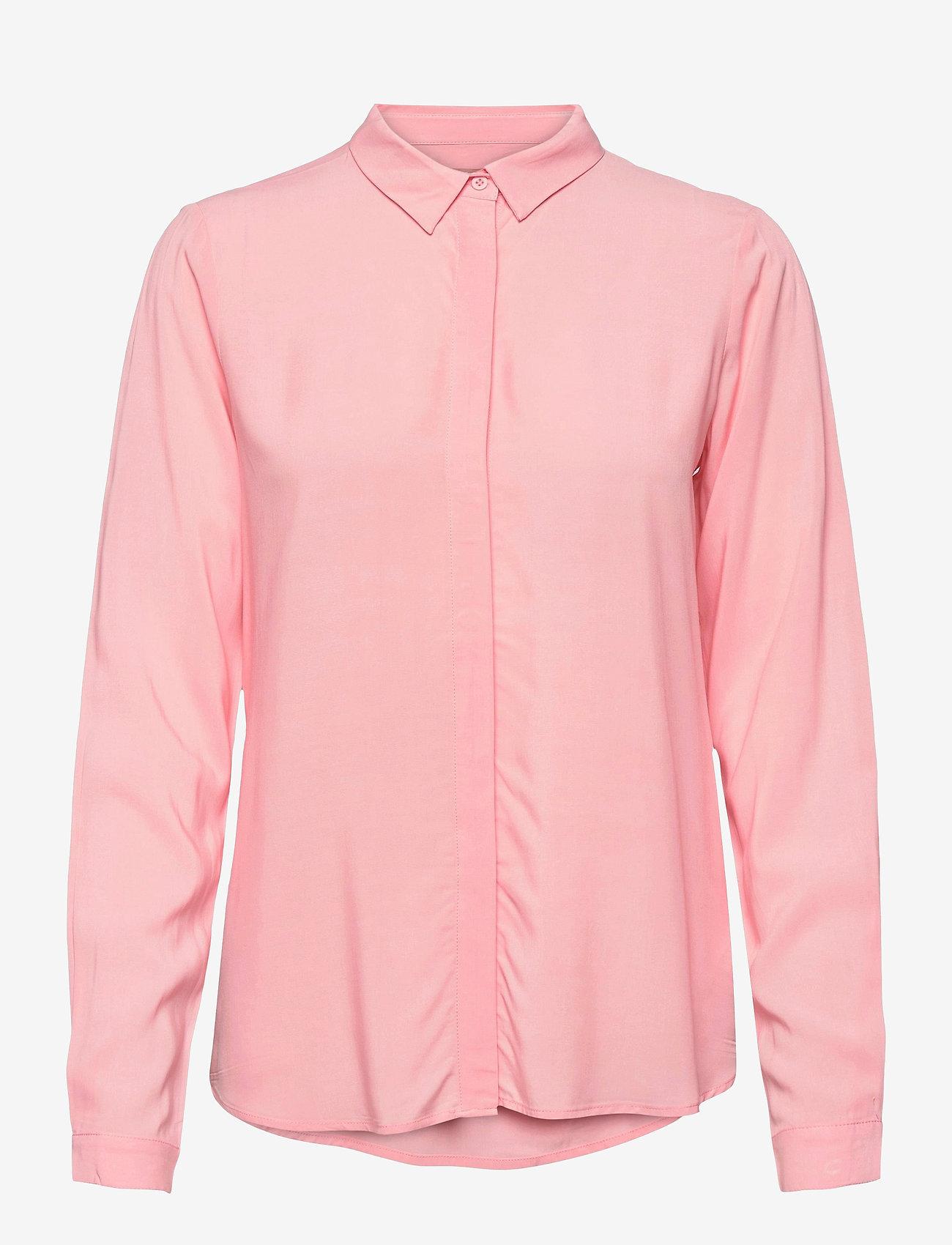 Soft Rebels - SRFreedom LS Shirt - denim shirts - quartz pink - 0