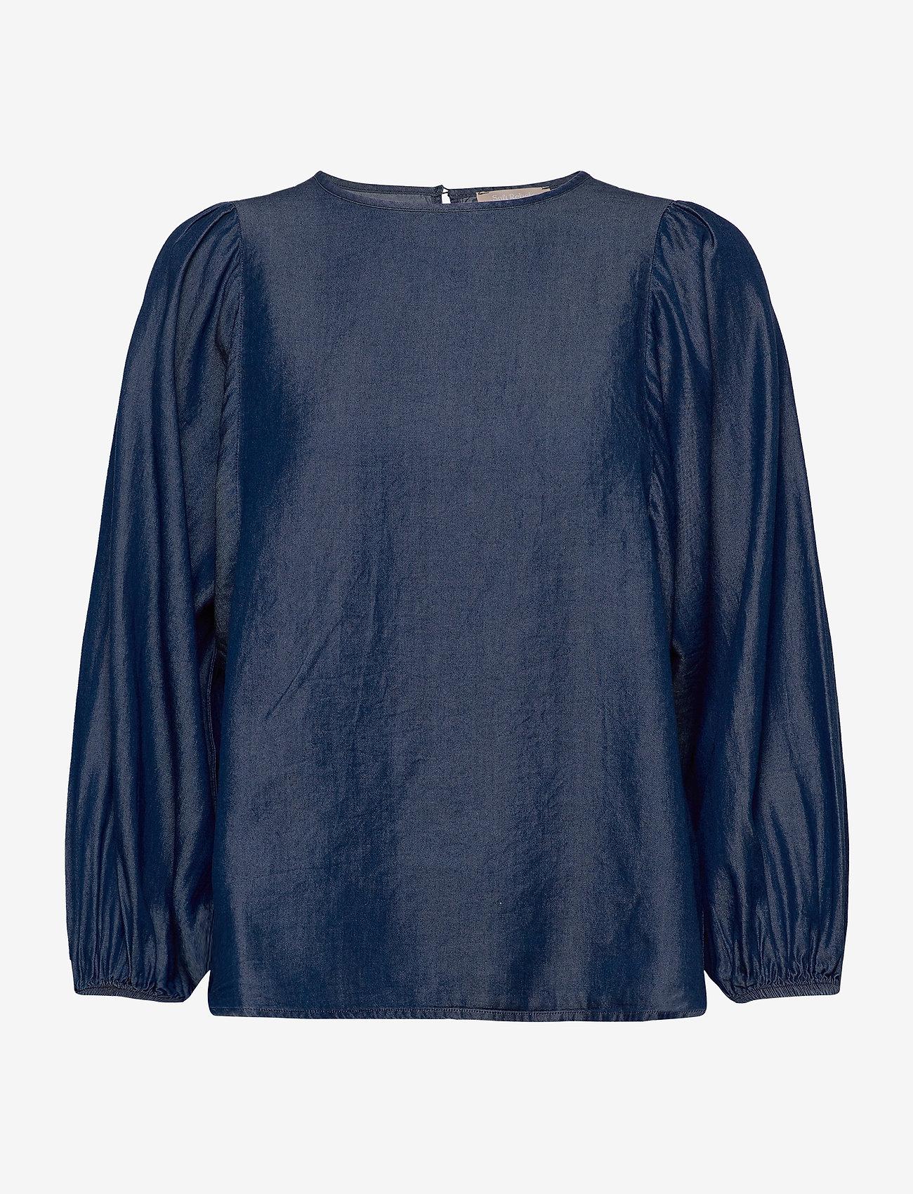 Soft Rebels - Rue 3/4 Top - blouses med lange mouwen - rinse wash - 0
